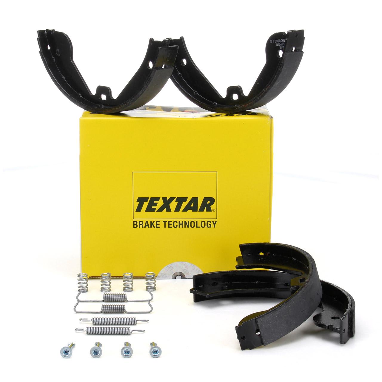 TEXTAR 91062400 Bremsbacken + Federn Satz AUDI Q7 4LB PORSCHE Cayenne 9PA VW Touareg 7L