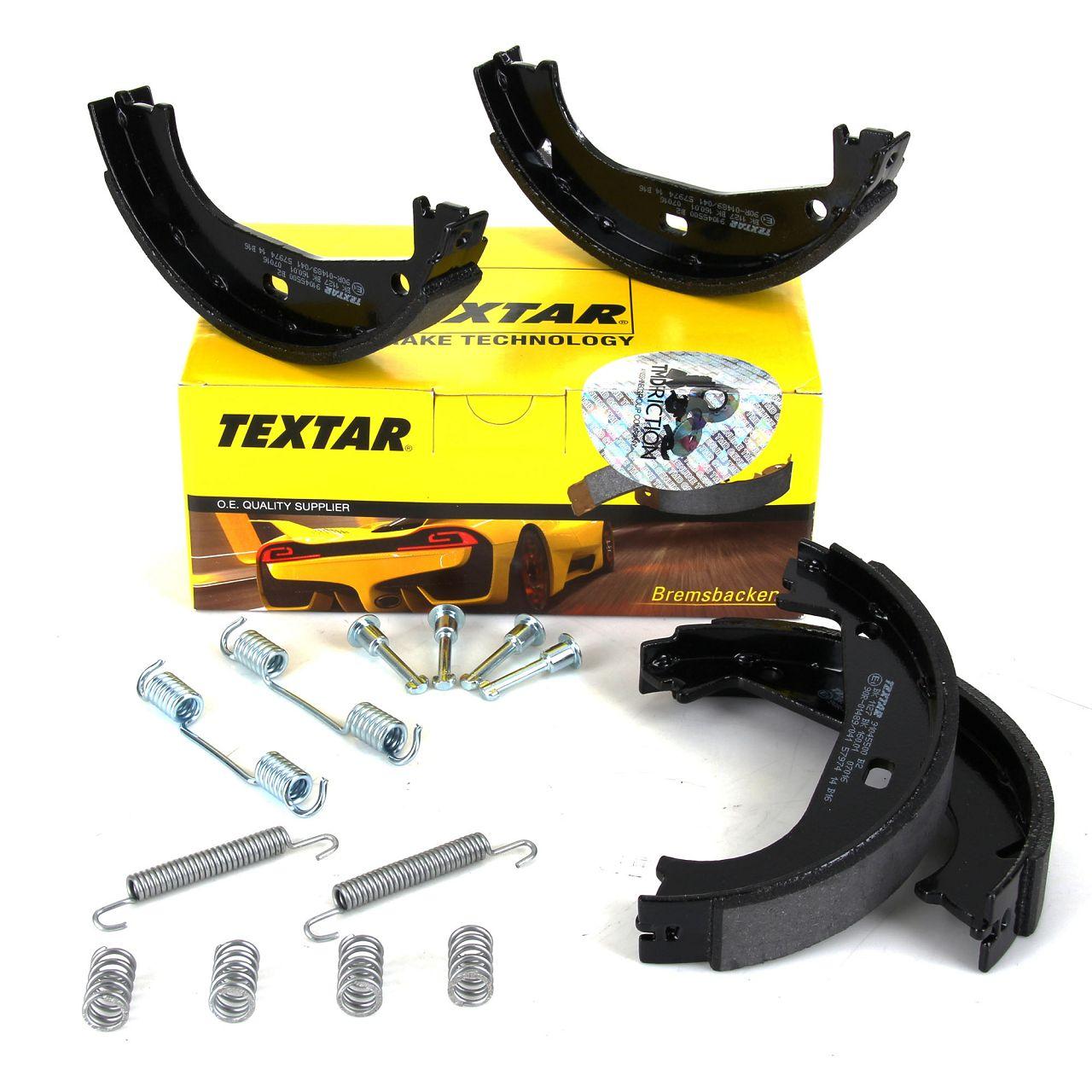 TEXTAR 91045500 Bremsbacken + Federn Satz BMW E36 316-328i Z1 2.5 Z3 E36 1.8-3.0 hinten