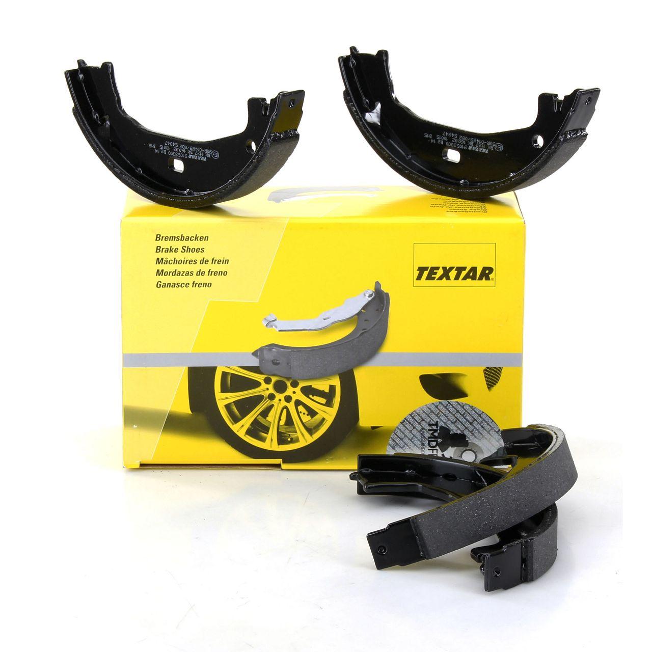 TEXTAR 91053300 Bremsbacken Satz BMW E81 E87 E88 E82 F20-23 E46 E90-93 F30-36 X1 E84 Z4