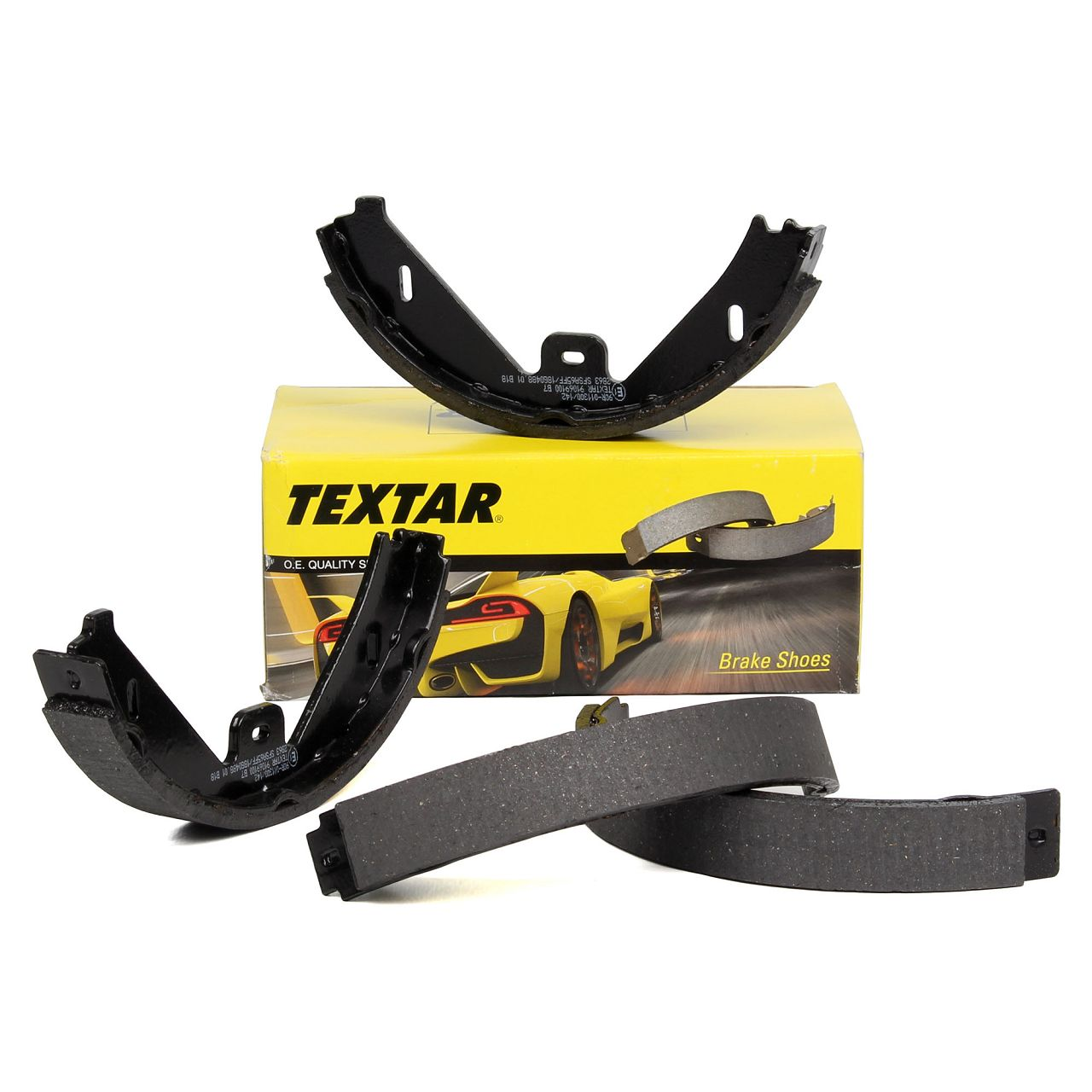 TEXTAR 91069100 Bremsbacken Satz MERCEDES CLS C218 X218 E-Klasse W212 S212 X204
