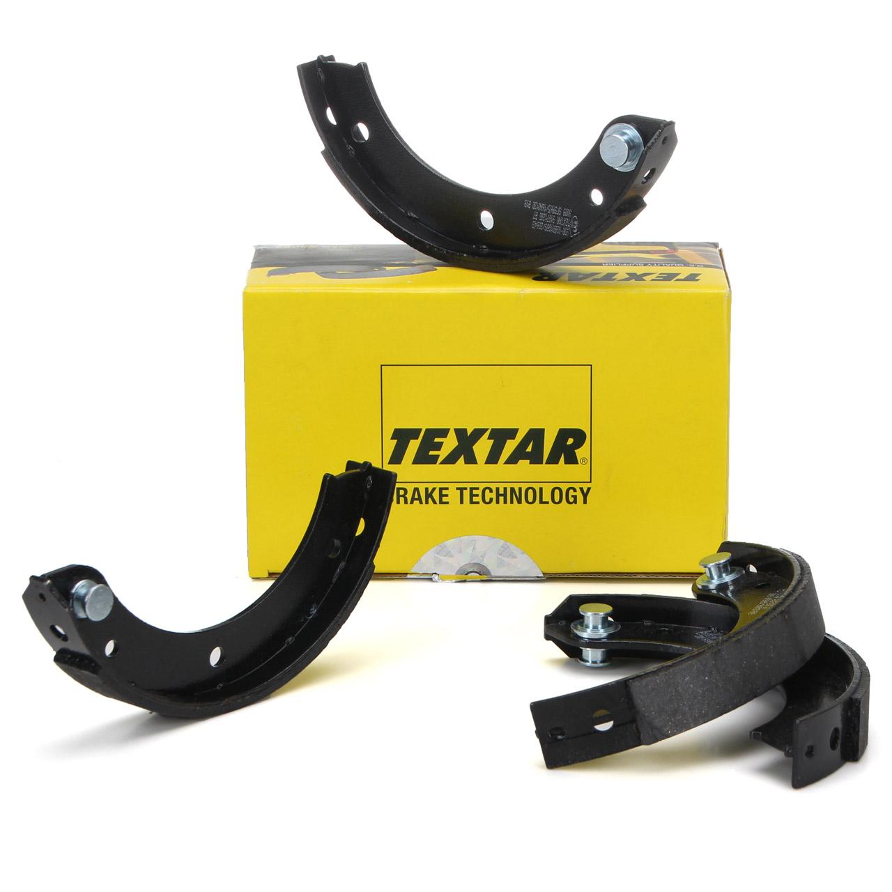 TEXTAR 91071200 Bremsbacken Satz PORSCHE 911 1963-1990 hinten 91135209710