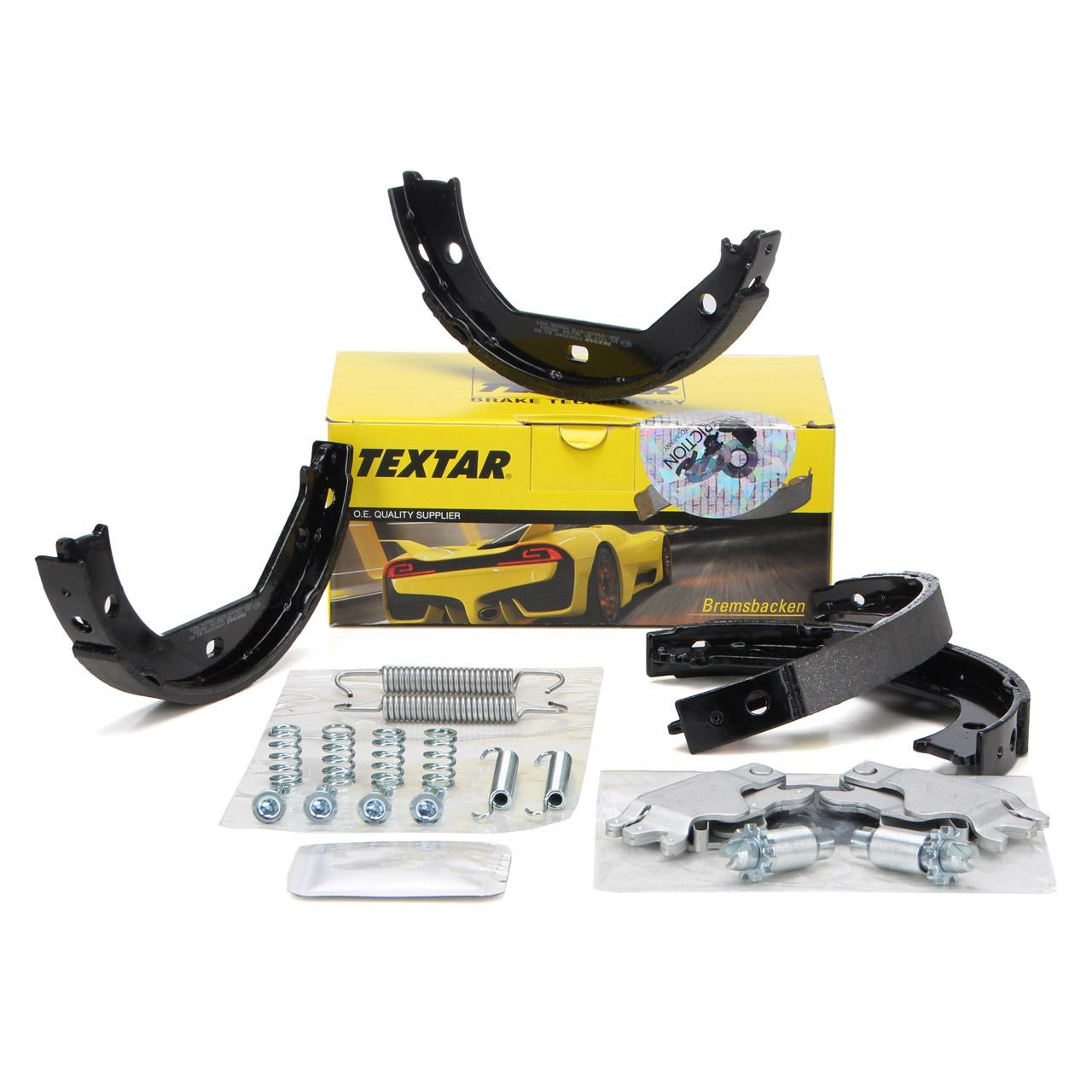 TEXTAR 91049300 Bremsbacken + Federn + Nachsteller Satz BMW E81-88 E46 E90-93 F30-34 F32