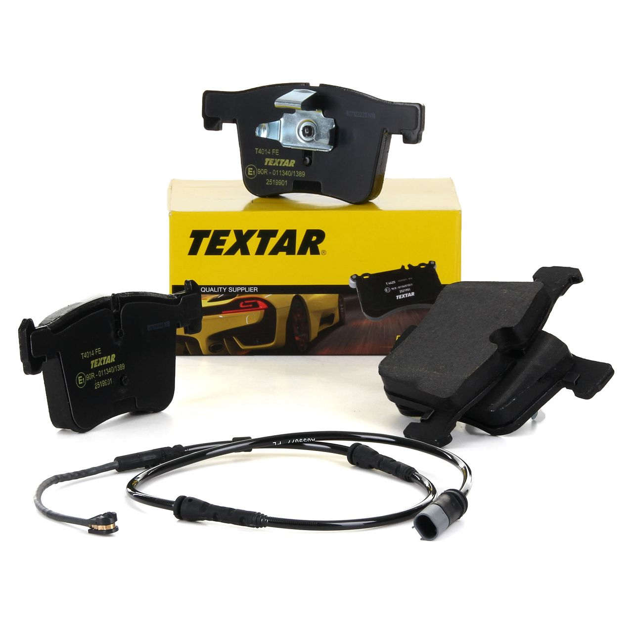 TEXTAR 2519901 Bremsbeläge + Wako BMW X3 F25 X4 F26 18-35i 18-35d vorne