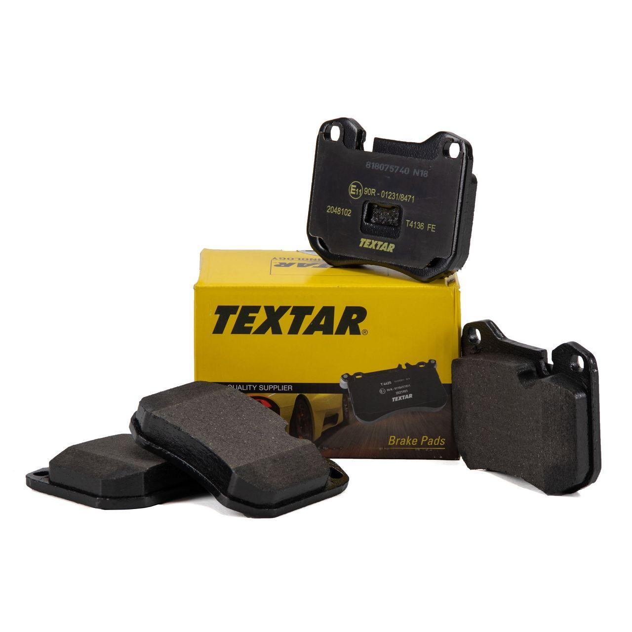TEXTAR Bremsbeläge PORSCHE 924 2.0 2.5 S + 928 4.5 + 944 2.5 / S 2.7 vorne