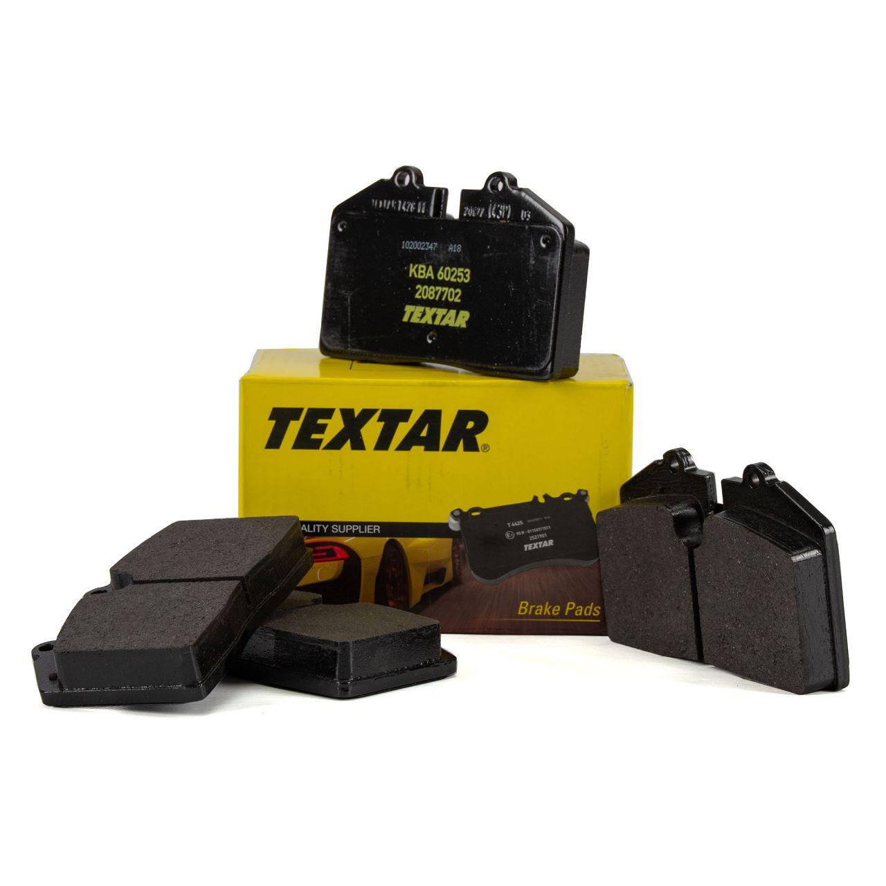 TEXTAR Bremsbeläge PORSCHE 928 944 968 911 (964) (993) vorne / hinten