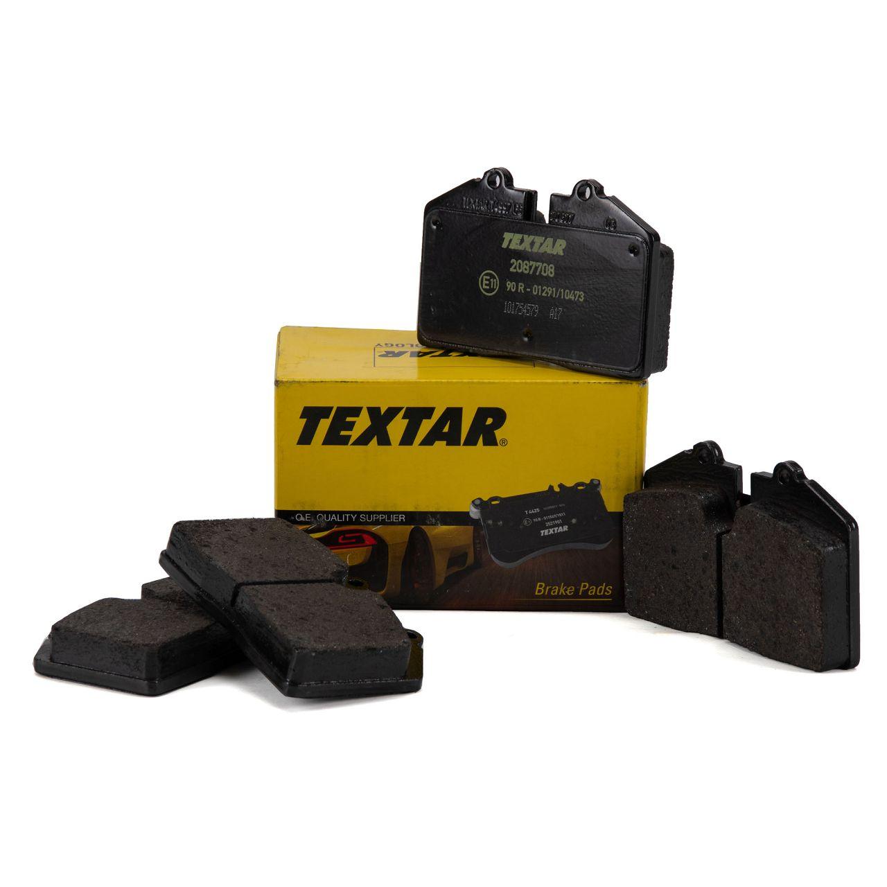 TEXTAR Bremsbeläge PORSCHE 911 3.3 Turbo + 944 + 968 3.0 + 911 (964) 3.6 vorne