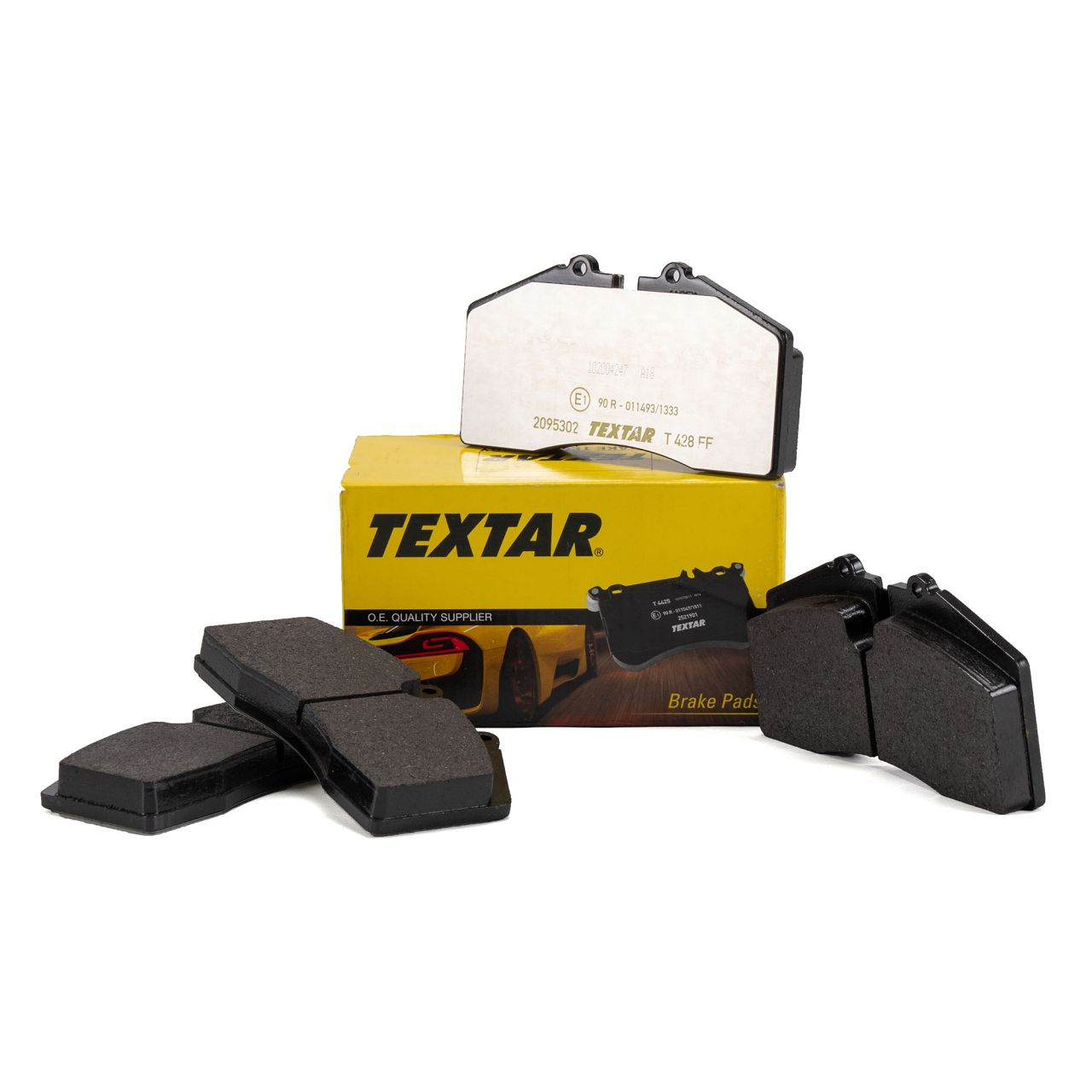 TEXTAR Bremsbeläge PORSCHE 928 + 944 + 959 + 968 + 911 (964 993) vorne / hinten