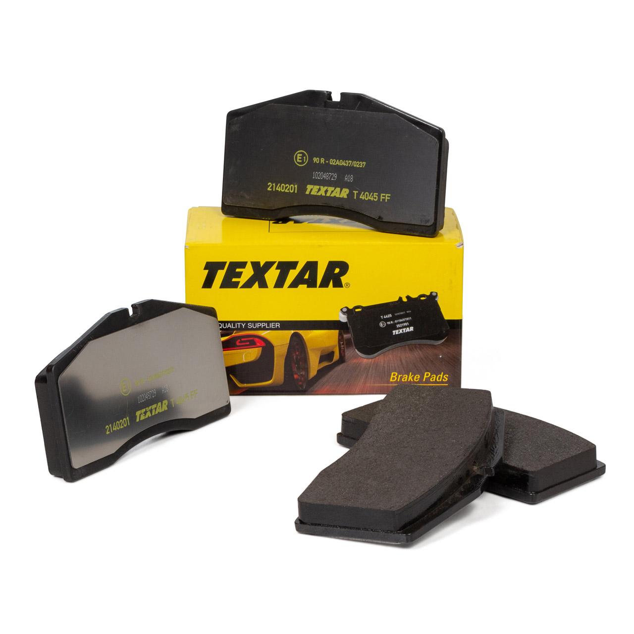 TEXTAR Bremsbeläge für AUDI 80 RS2 + PORSCHE 928 911 (964) Turbo + (993) vorne