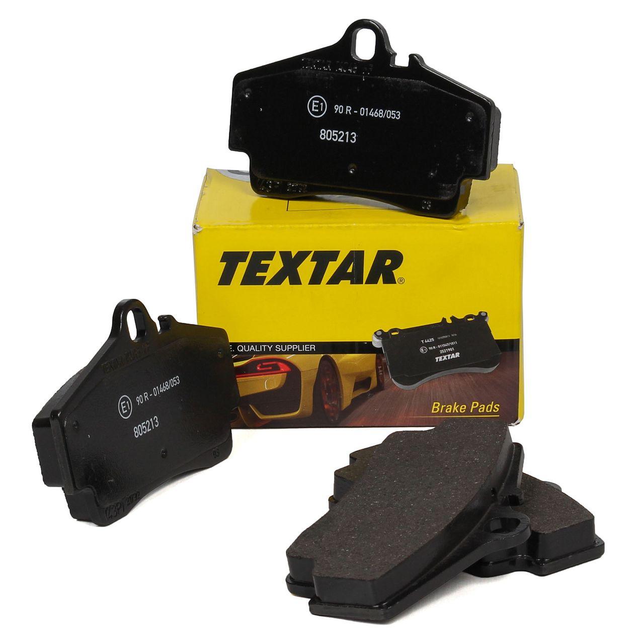 TEXTAR Bremsbeläge für PORSCHE 911 (996 997) BOXSTER CAYMAN (986 987) hinten