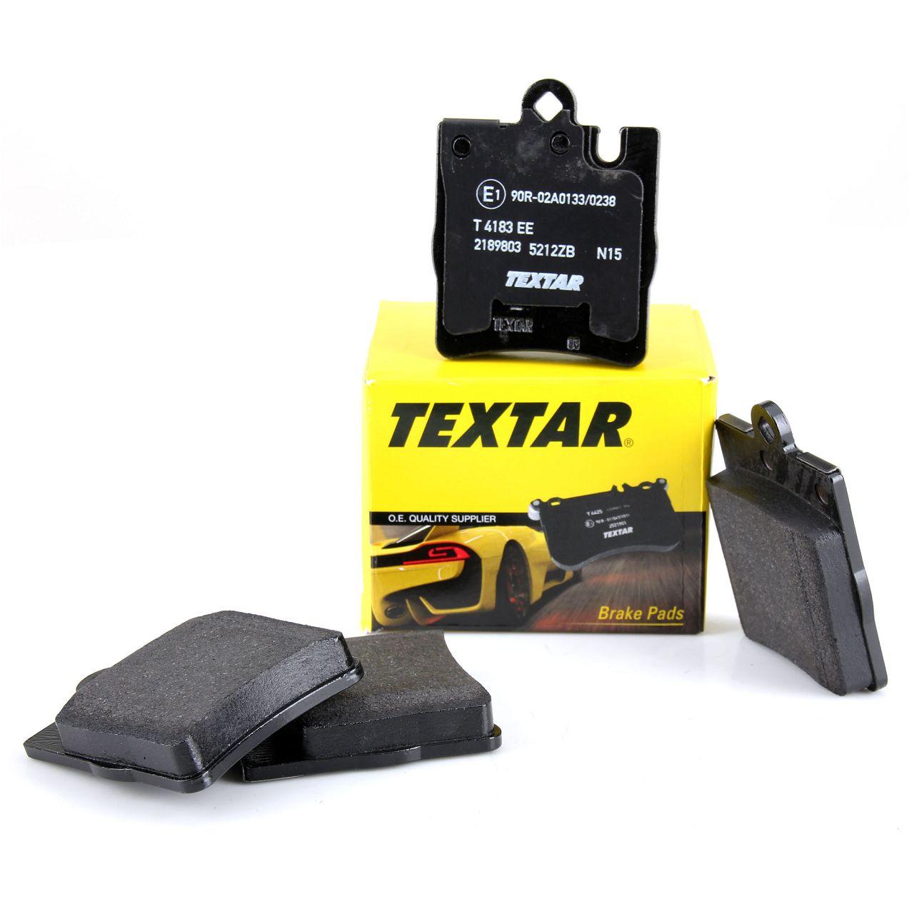 TEXTAR 2189803 Bremsbeläge MERCEDES W203 C208 C209 W210 R171 hinten 003420282041