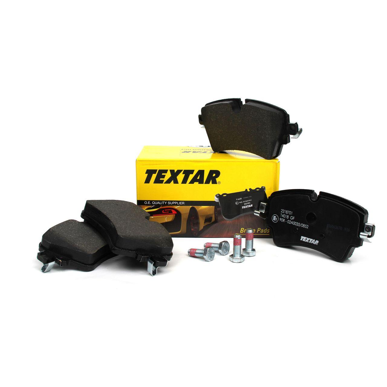 TEXTAR Bremsbeläge Bremsbelagsatz für BMW 2er F45 F46 Mini F55 F56 F57 F54 vorne