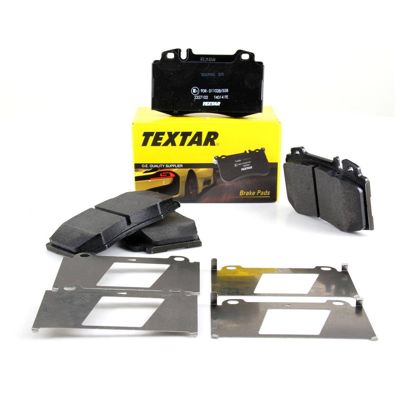 TEXTAR Bremsbeläge MERCEDES M-Klasse W163 ML 320-55 AMG ML 270/400 CDI vorne