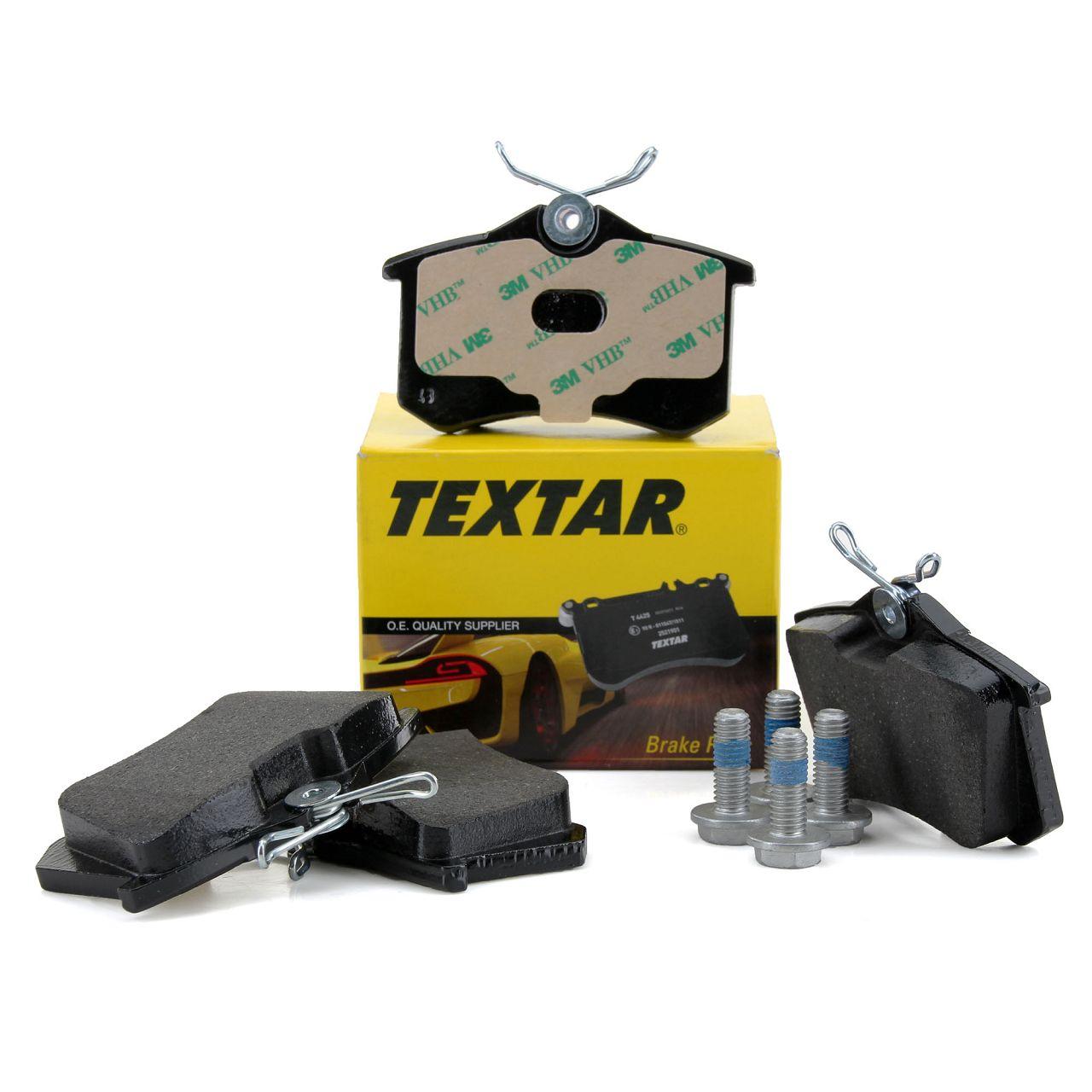 TEXTAR 2355402 Bremsbeläge AUDI A1 A3 A4 A6 SEAT SKODA VW GOLF 3 4 5 6 hinten 8E0698451K