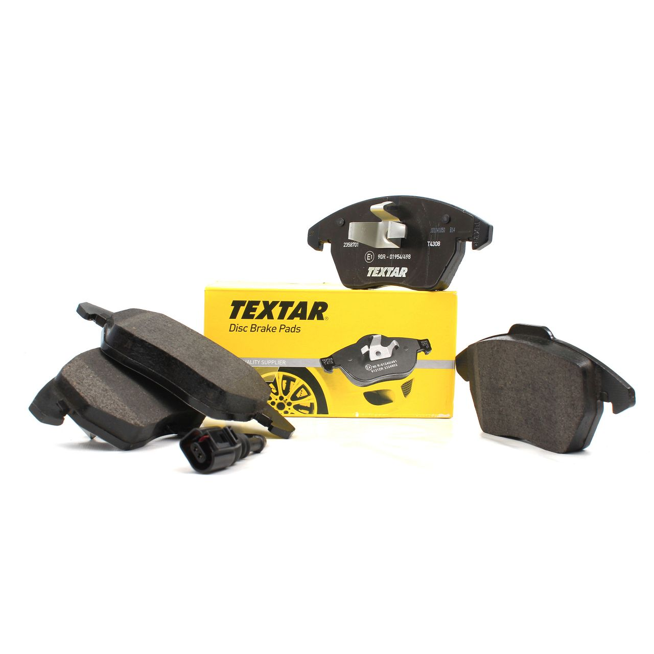 TEXTAR Bremsbeläge + Wako AUDI A1 A3 8P SEAT SKODA VW Golf 5 6 Passat Polo vorne