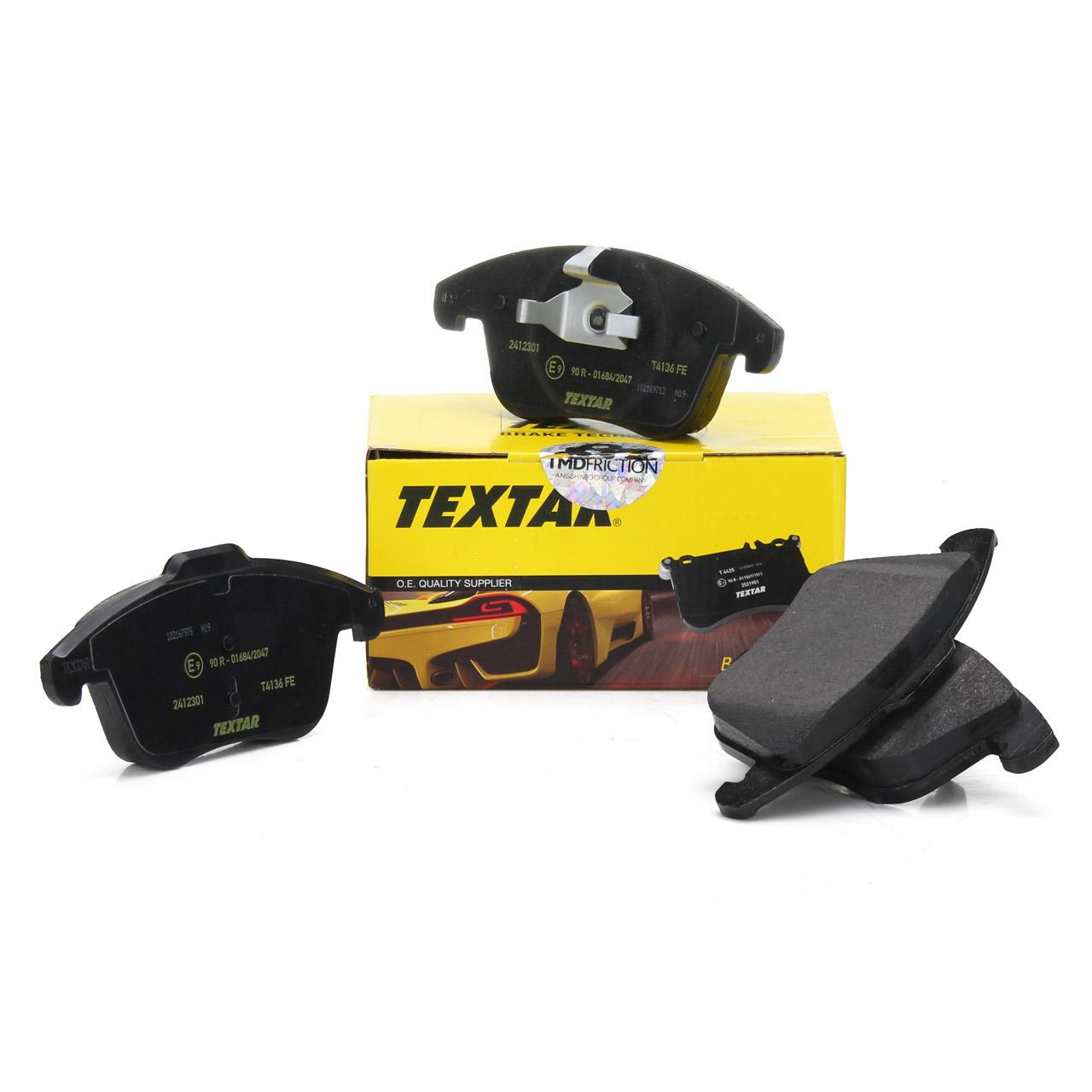 TEXTAR Bremsbeläge Bremsbelagsatz vorne 24123 für FORD GALAXY MONDEO IV S-MAX