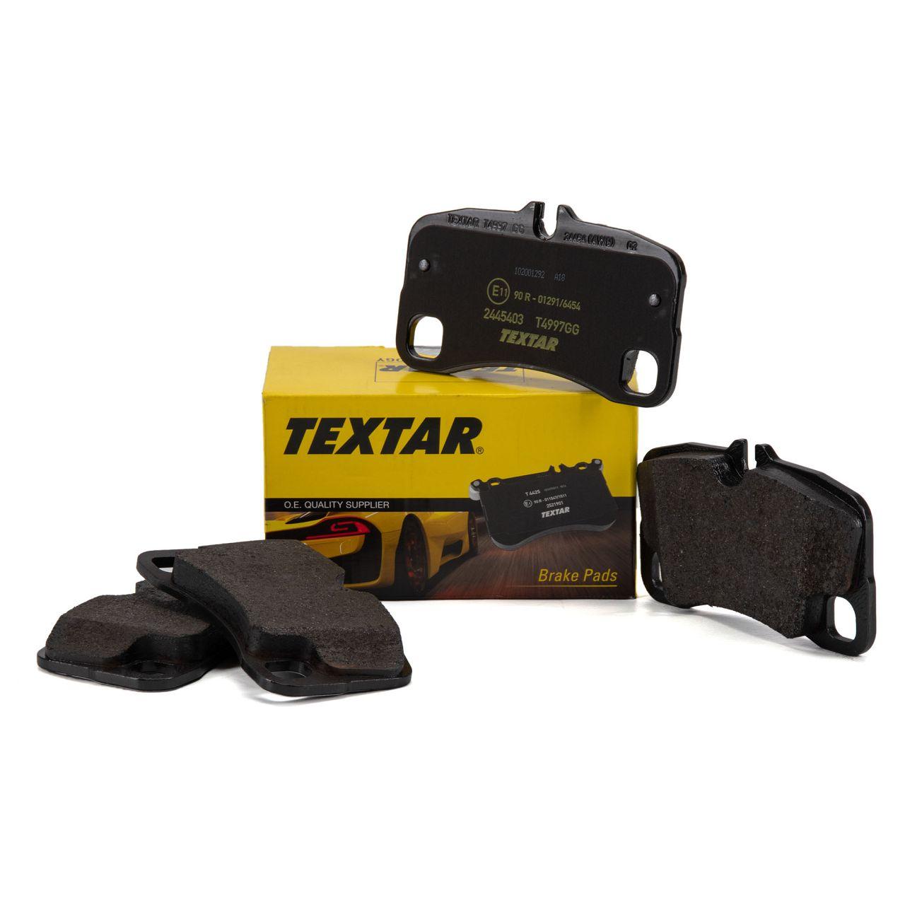 TEXTAR 2445403 Bremsbeläge PORSCHE 997 3.6/3.8 Turbo / S hinten 99735294905