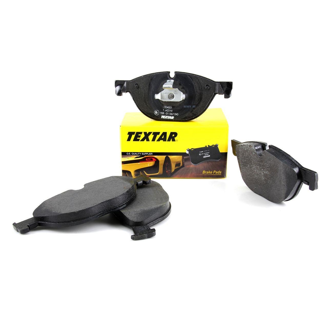 TEXTAR 2504501 Bremsbeläge BMW 5er F10 F11 F07 6er F12 F13 F06 7er F01 vorne 34116851269