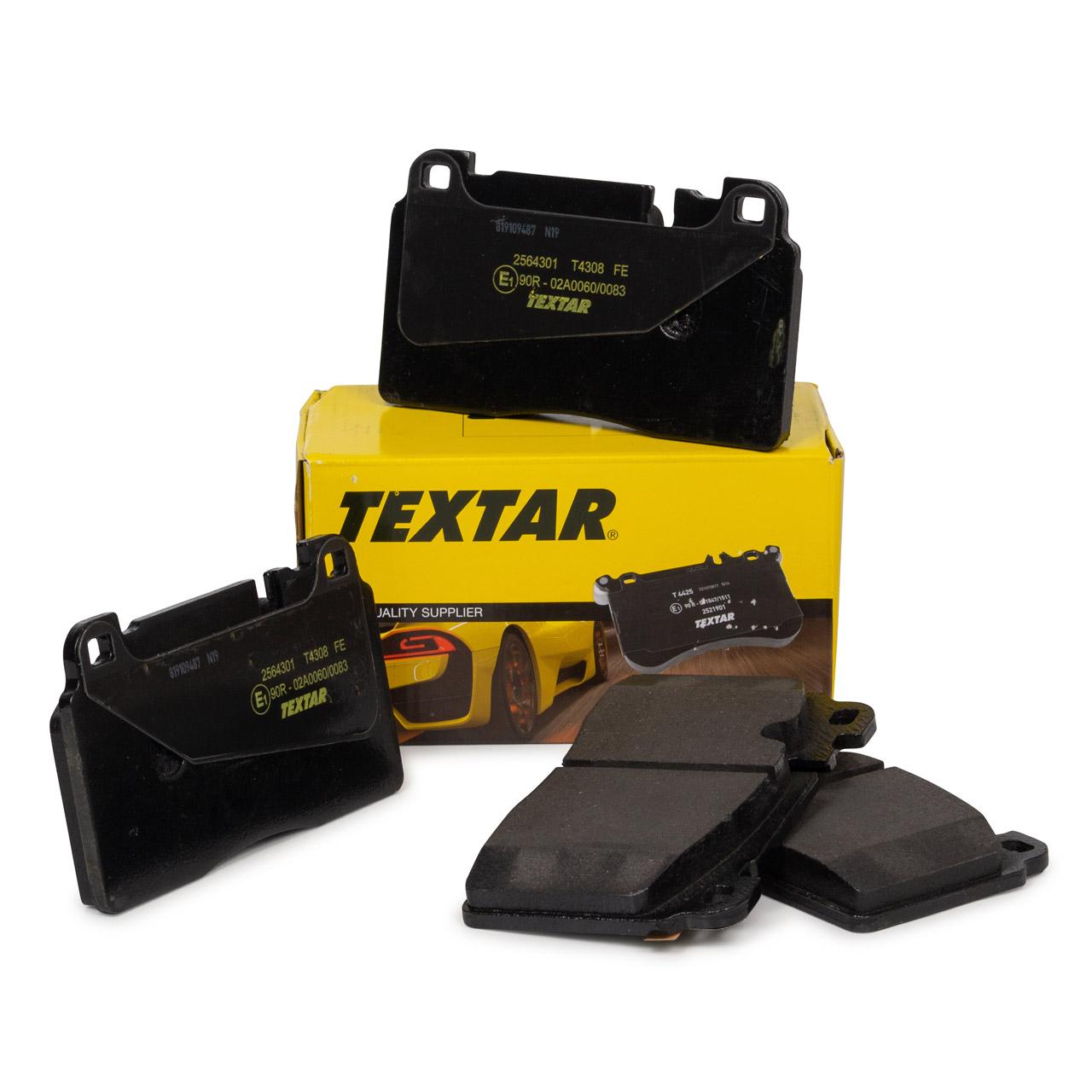 TEXTAR Bremsbeläge AUDI A6 C7 A7 4G Q5 8RB PORSCHE Macan 95B 2.0 vorne