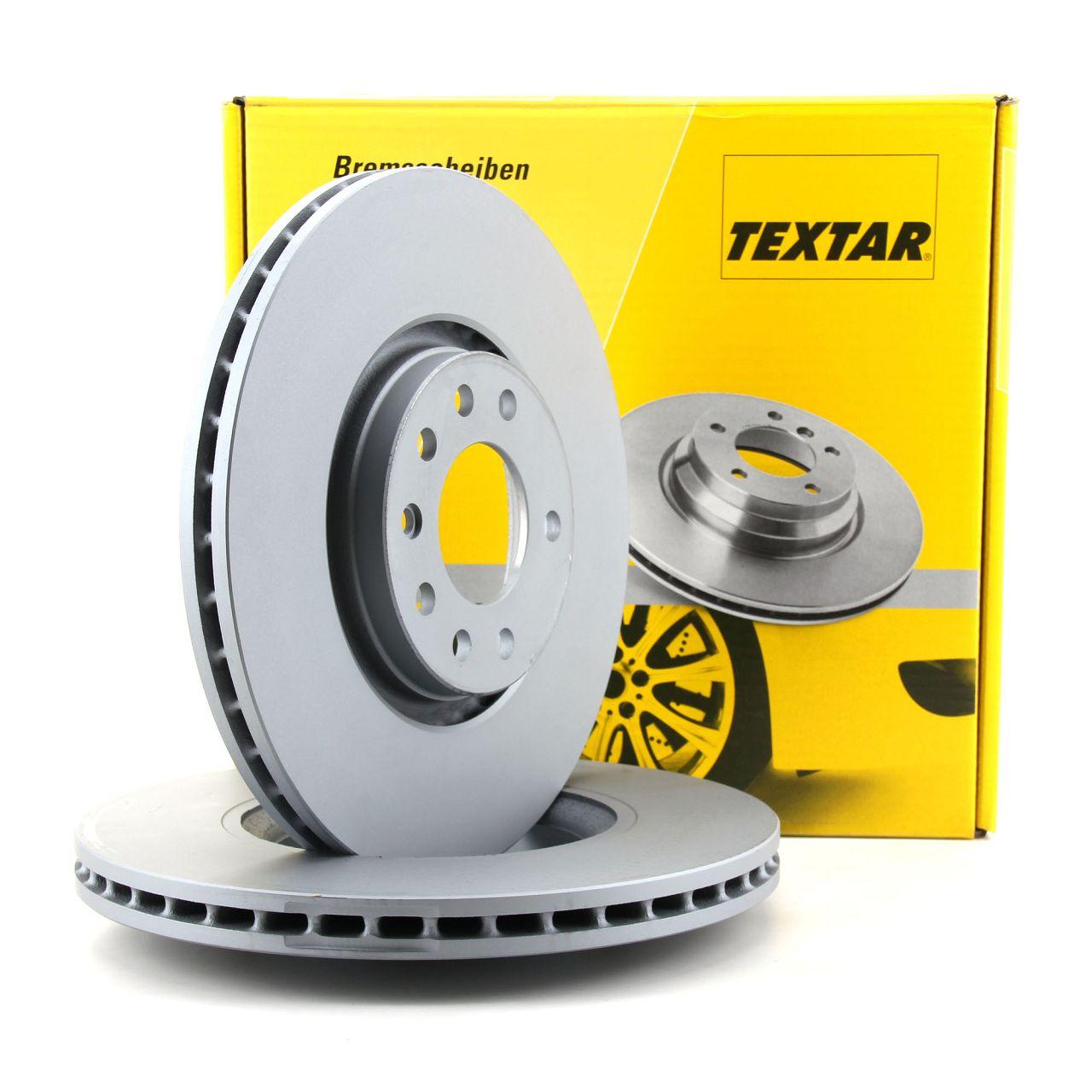 TEXTAR 92110903 Bremsscheiben Satz OPEL Astra Corsa Vectra Zafira SAAB 9-3 9-5 vorne