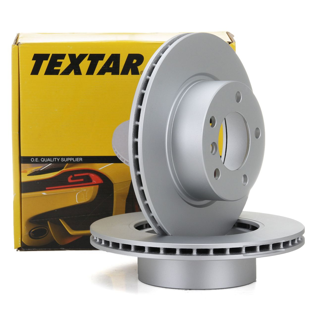 TEXTAR 92132805 Bremsscheiben Satz BMW 1er E81 E87 E88 E82 3er E90 ohne M-Technik vorne