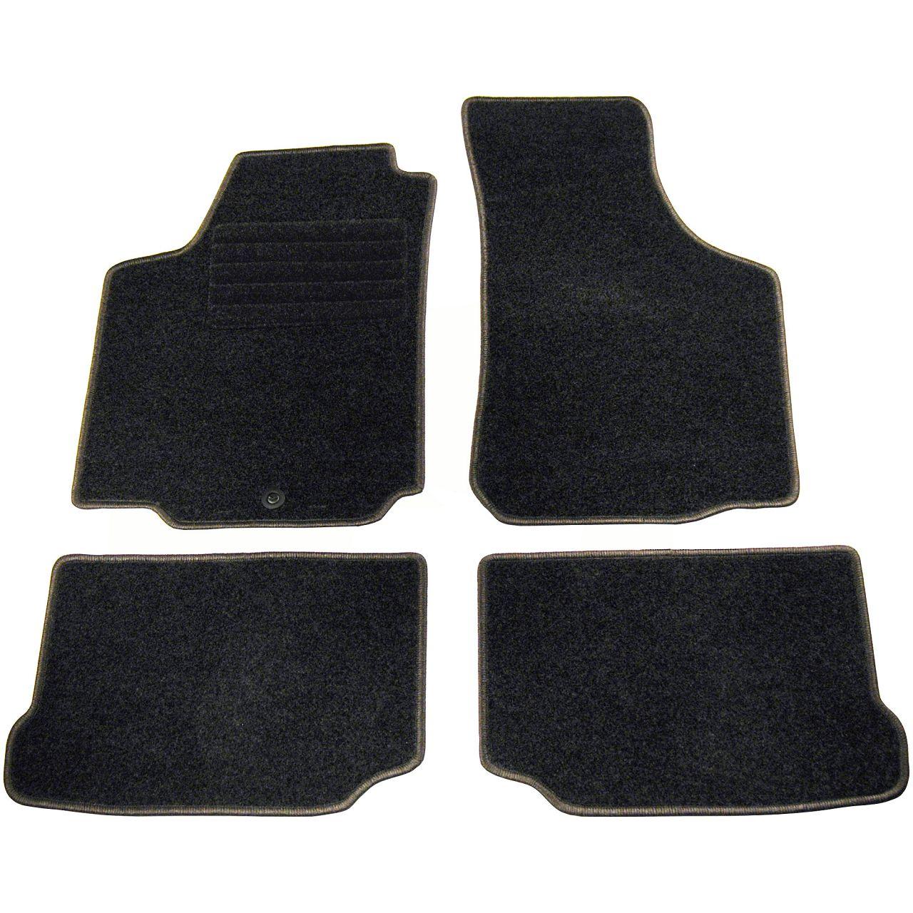 Veloursmatten Textilmatten Fußmatten 4-tlg für SKODA OCTAVIA (1U2) + KOMBI (1U5)
