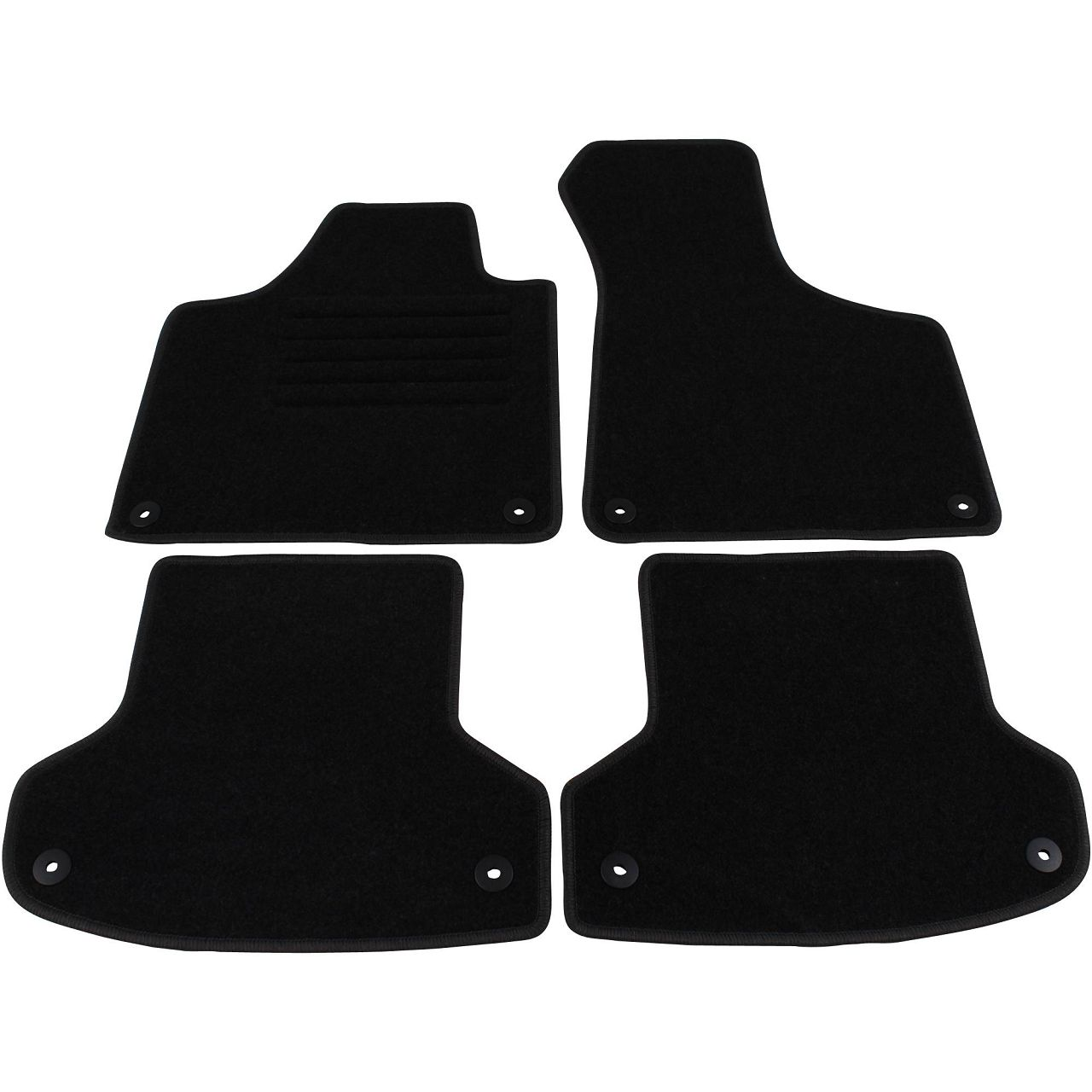 Veloursmatten Textilmatten Fußmatten Automatten AUDI A3 S3 RS3 (8P) 4-teilig
