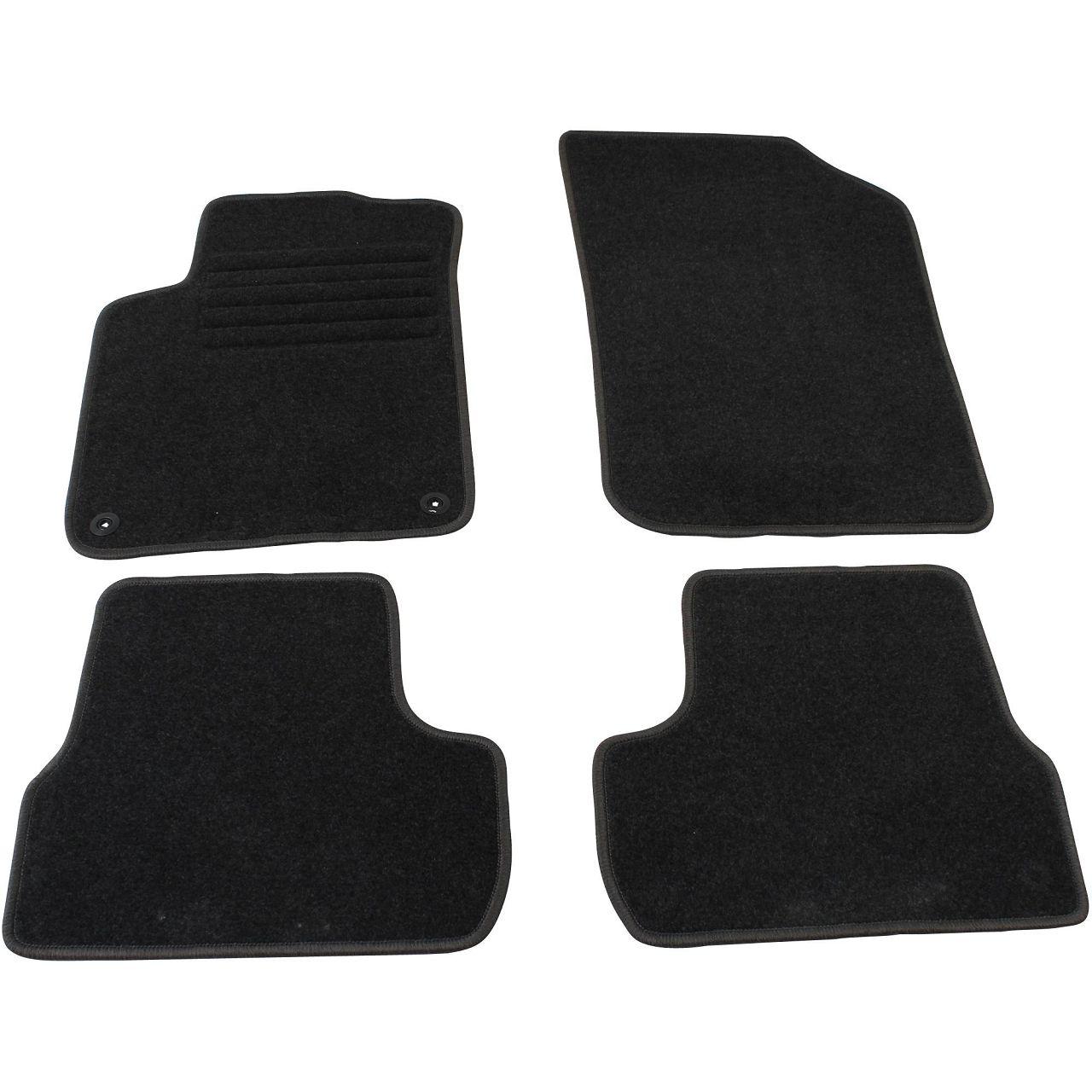 Veloursmatten Textilmatten Fußmatten Automatten für Citroen DS3 ab 11.2009 4-tlg