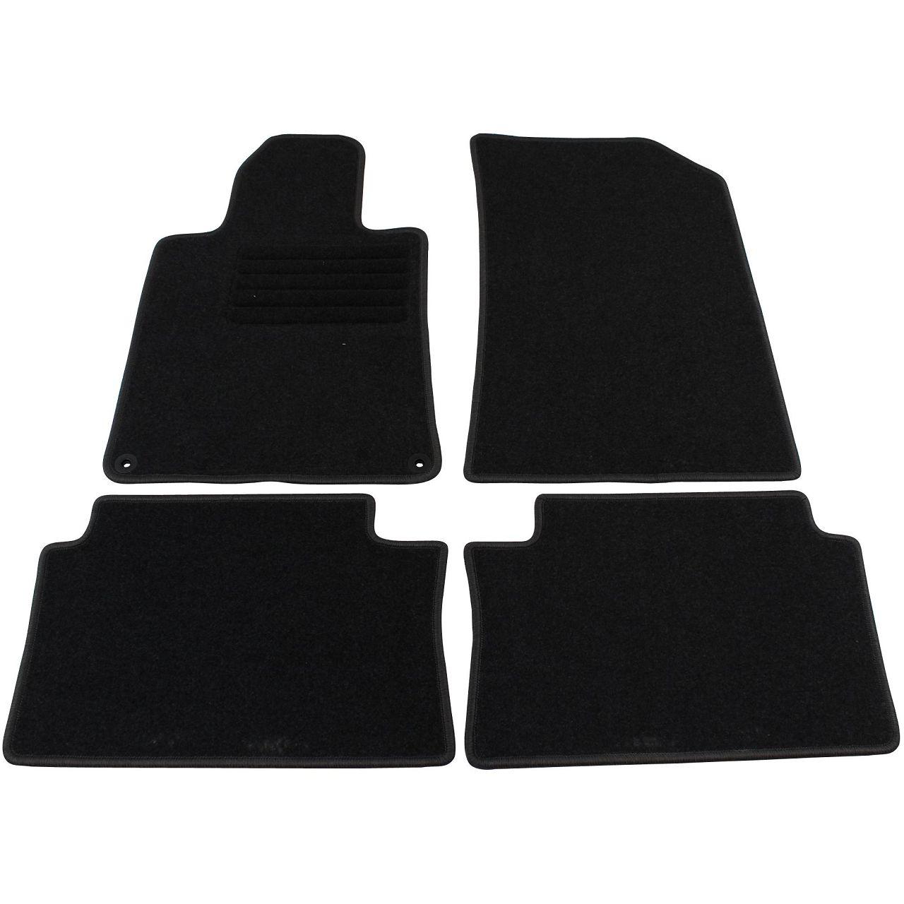 Veloursmatten Textilmatten Fußmatten Satz für Peugeot 508 / 508 SW 4-tlg