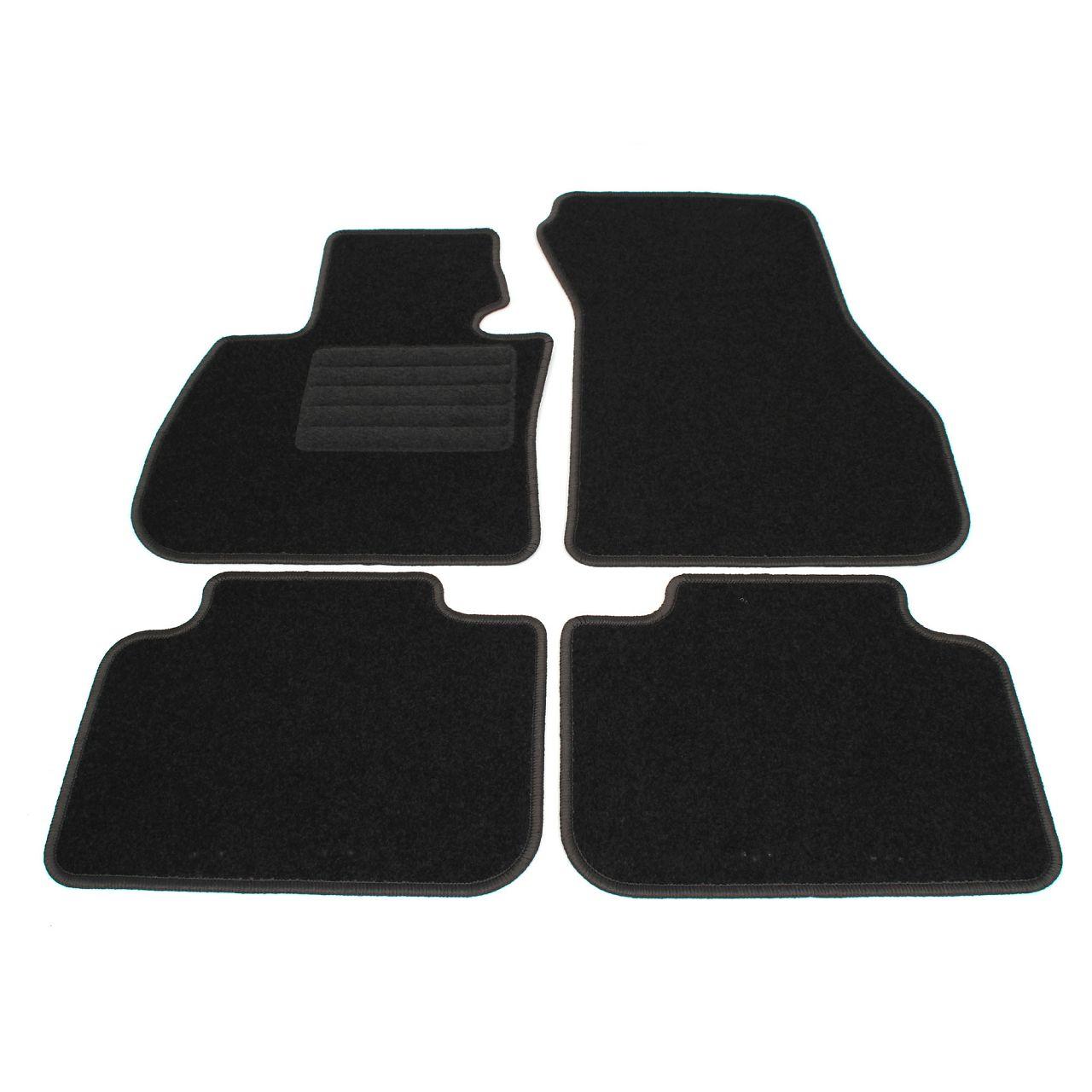 Veloursmatten Textilmatten Fußmatten Automatten BMW X1 F48 ab 09.2015 4-tlg