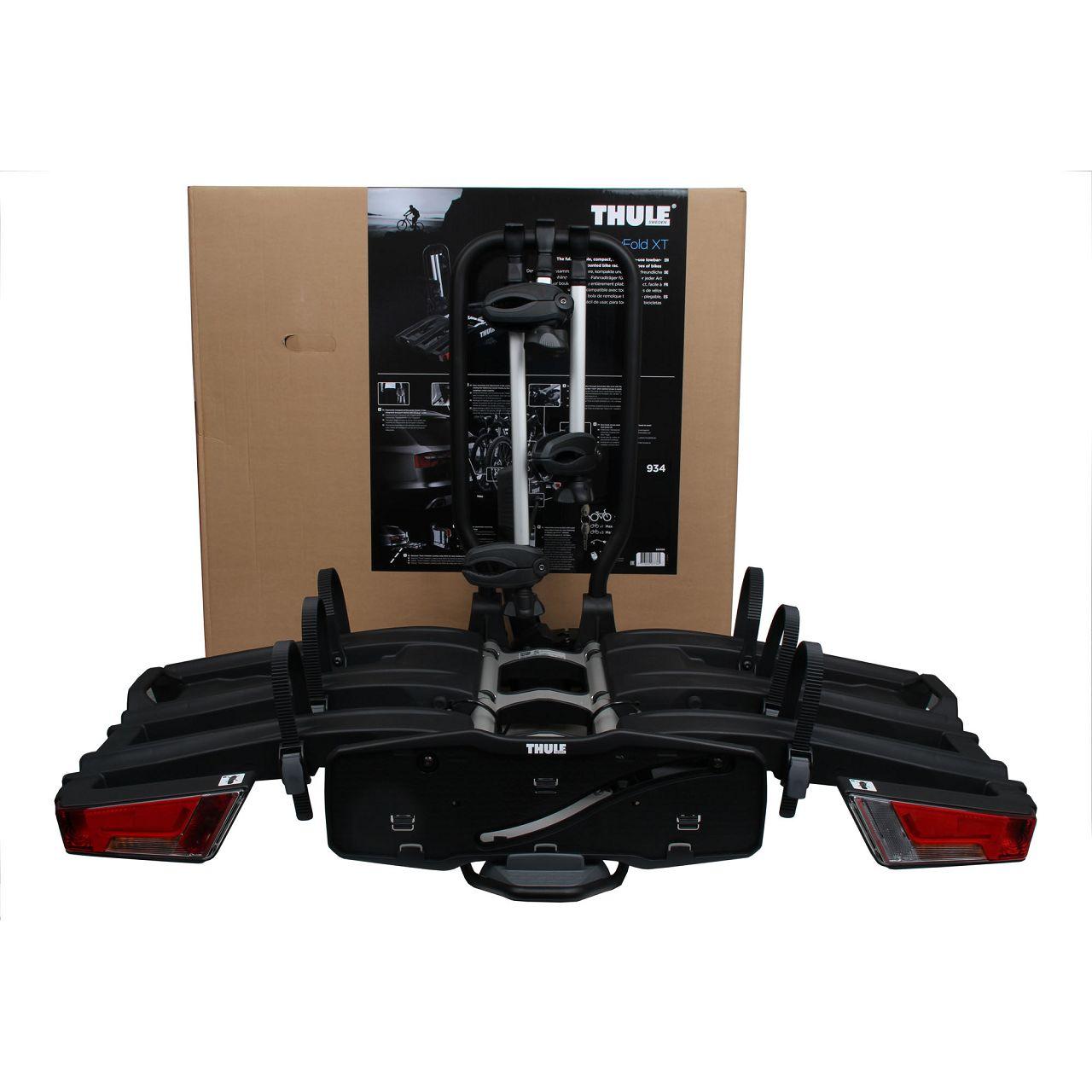 THULE Heckträger Kupplungsträger Fahrradträger EASYFOLD XT 934 für 3 Räder