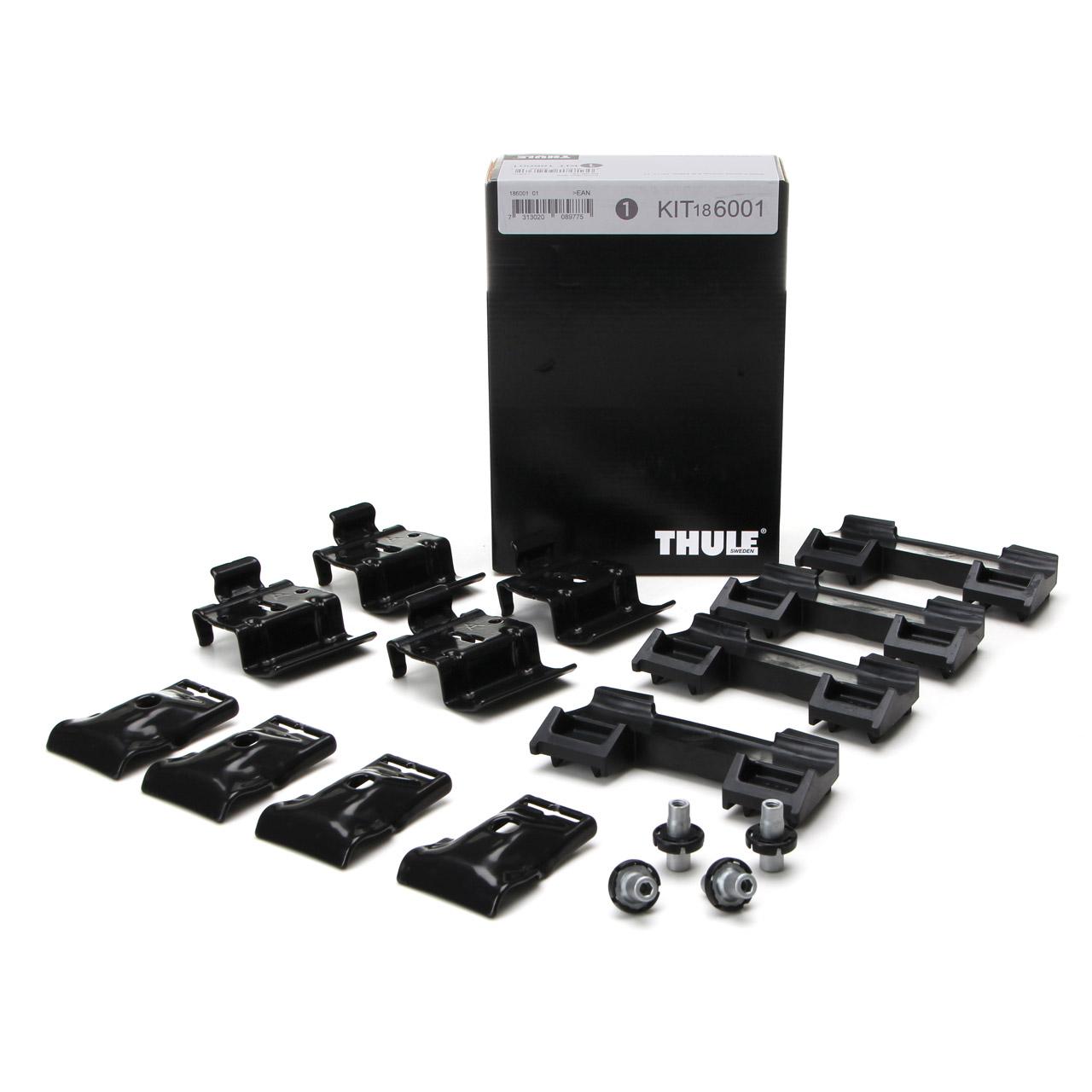 THULE 6001 Montagesatz Montagekit Dachträger Evo Flush BMW 5er F11 G31 Touring