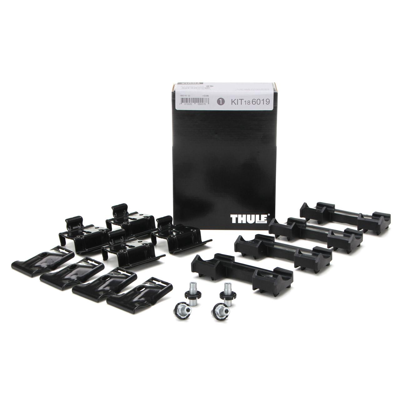 THULE 6019 Montagesatz Montagekit Dachträger Evo Flush AUDI A4 (B8 B9) Avant Q5 (FYB)