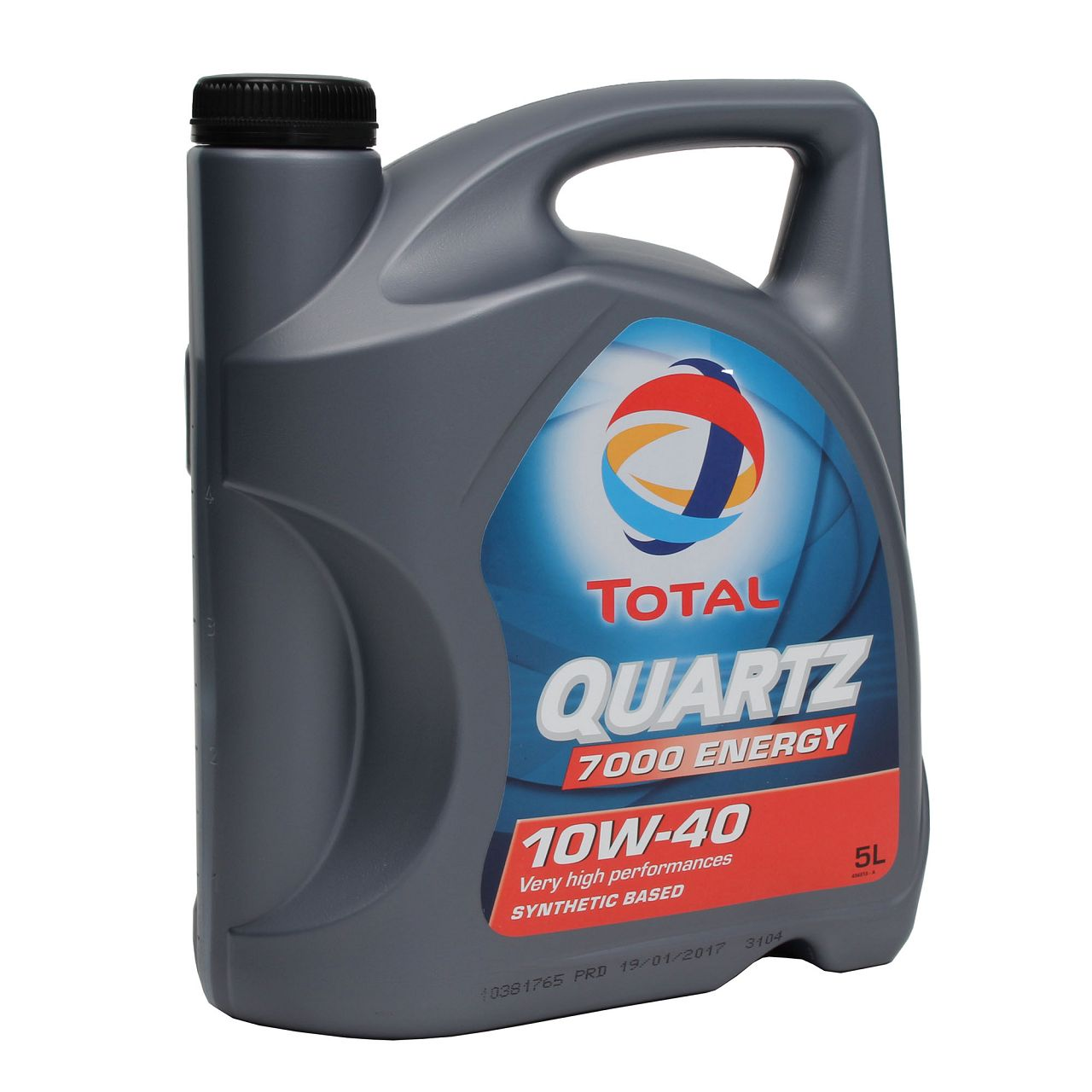 TOTAL QUARTZ 7000 ENERGY 10W-40 Motoröl 5L 10W40 5 Liter für VW 501.01/505.00