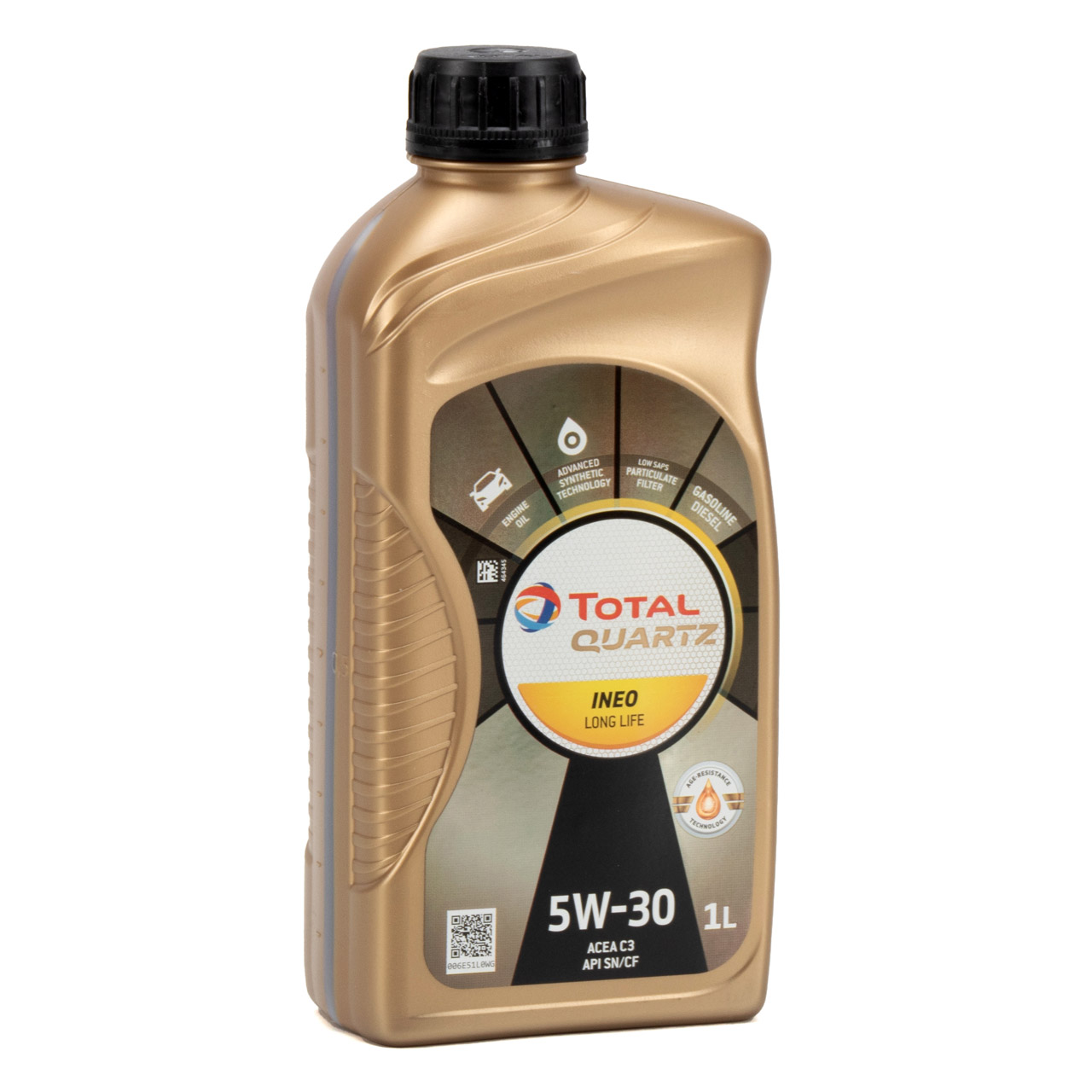 TOTAL QUARTZ INEO LONGLIFE 5W30 Motoröl Öl VW 504/507.00 MB 229.51 - 6L 6 Liter
