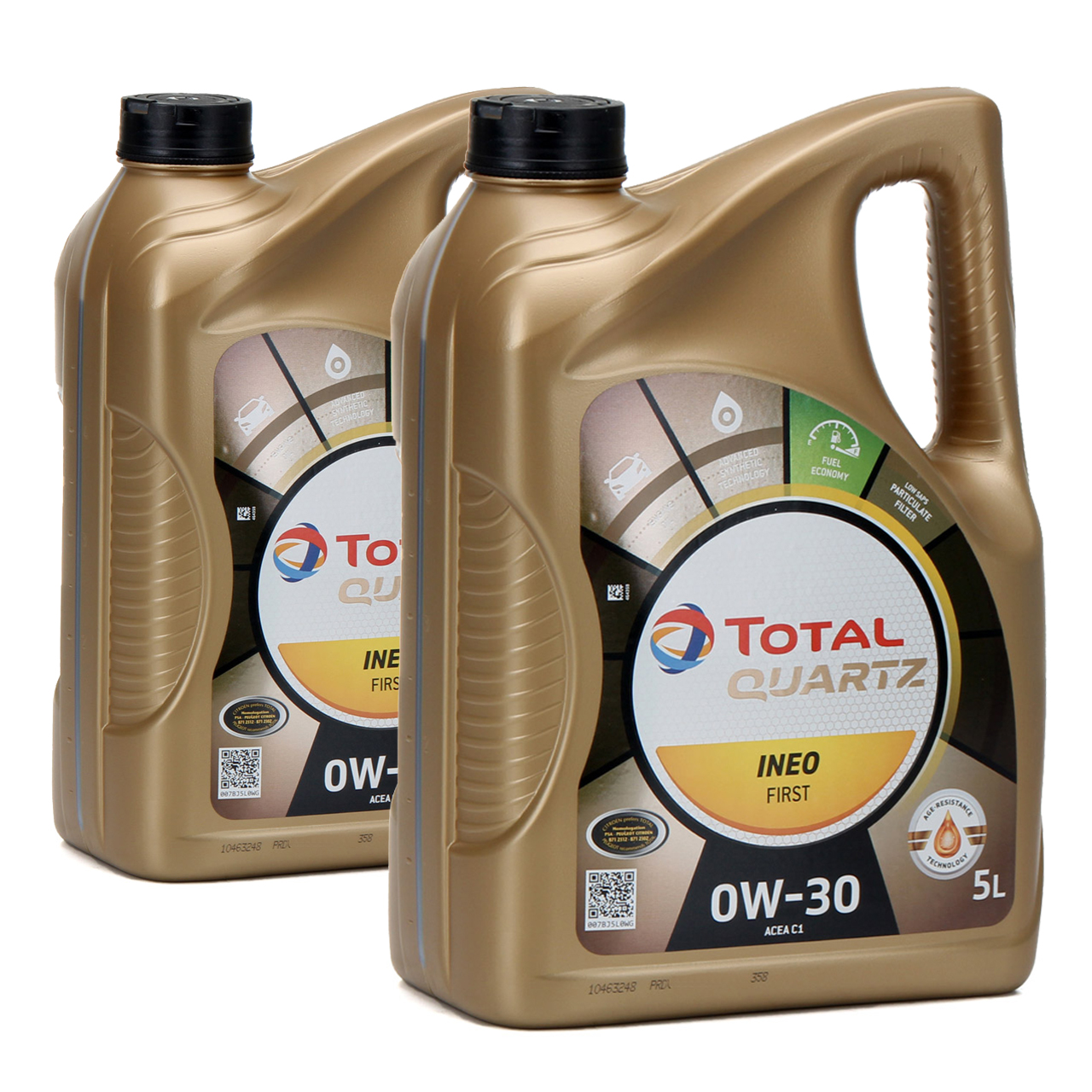 TOTAL QUARTZ INEO FIRST Motoröl Öl 0W-30 ACEA C1 C2 PSA B71 2312 - 10L 10 Liter