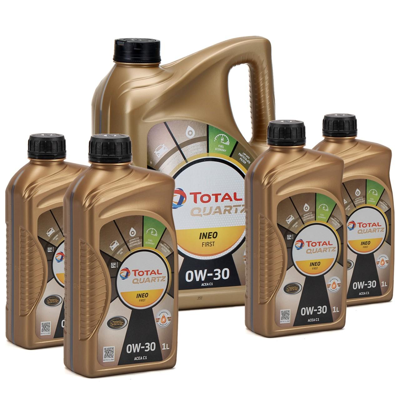 TOTAL QUARTZ INEO FIRST Motoröl Öl 0W-30 ACEA C1 C2 PSA B71 2312 - 9L 9 Liter