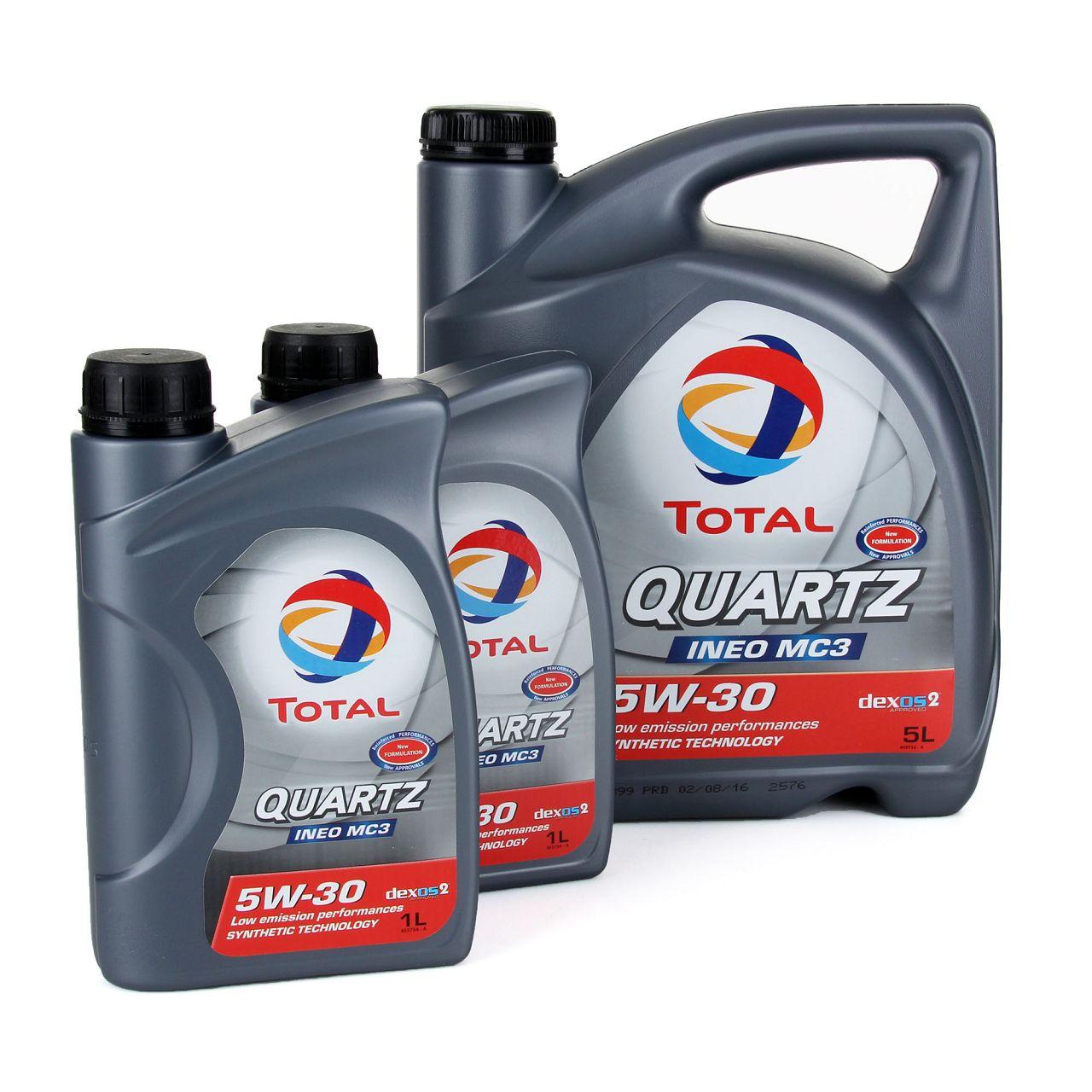 TOTAL QUARTZ INEO MC3 5W-30 Motoröl PSA B71 2297 MB 229.52 BMW LL-04 7L 7 Liter