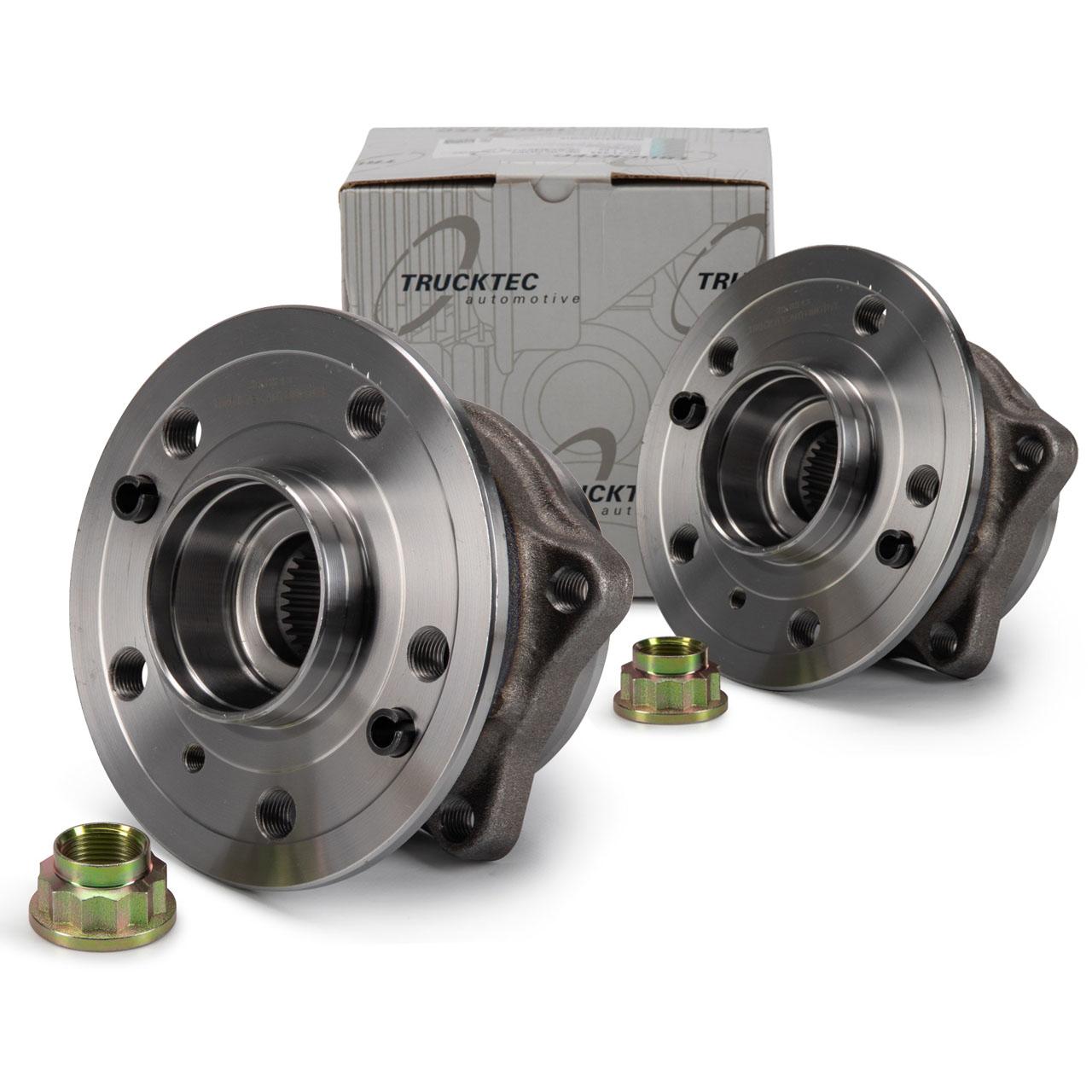 2x TRUCKTEC Radnabe MERCEDES GL GLS X166 M GLE W166 C292 vorne 1663340206