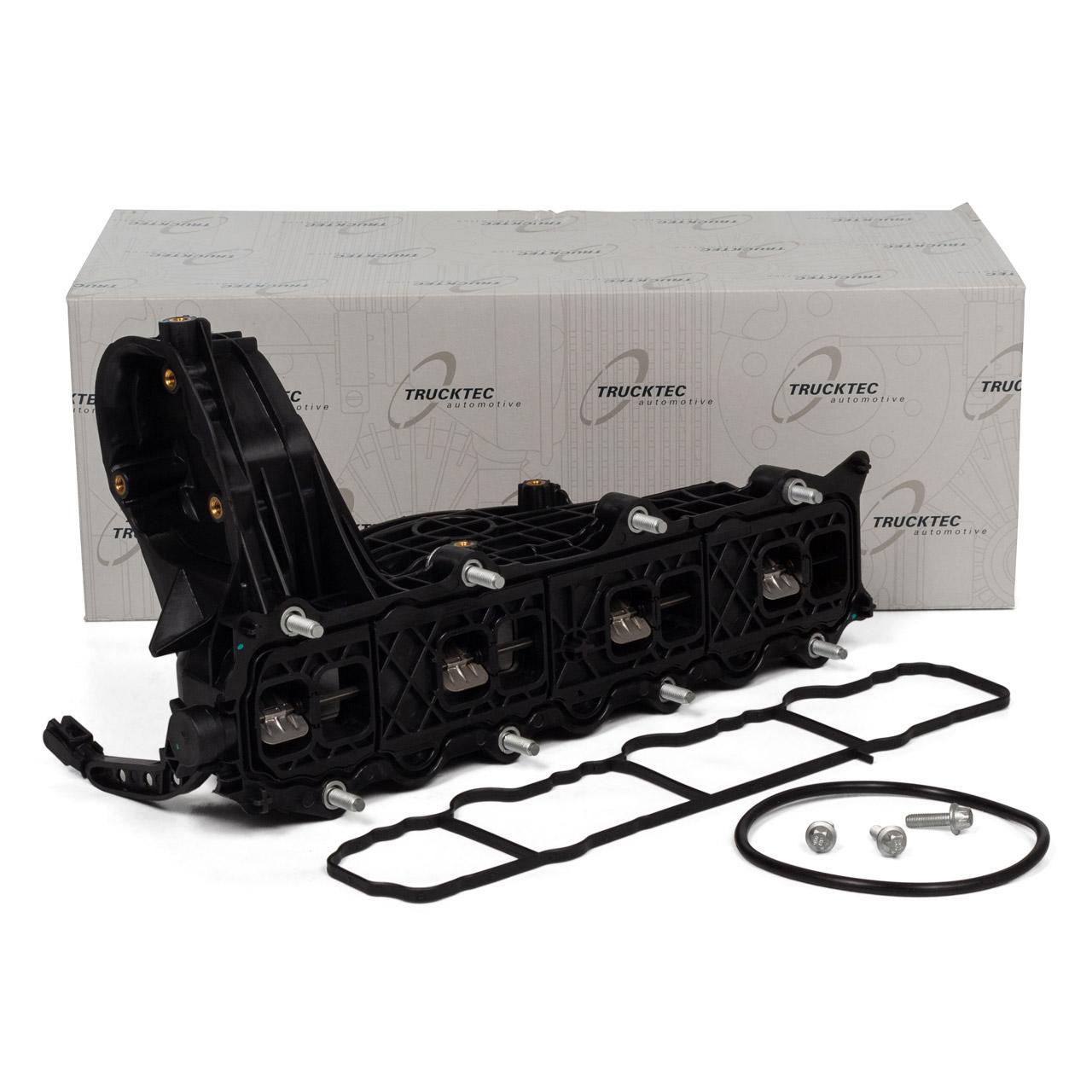 TRUCKTEC Ansaugkrümmer Saugrohrmodul MERCEDES-BENZ W204 W205 1.8/2.2 Diesel 6510900037