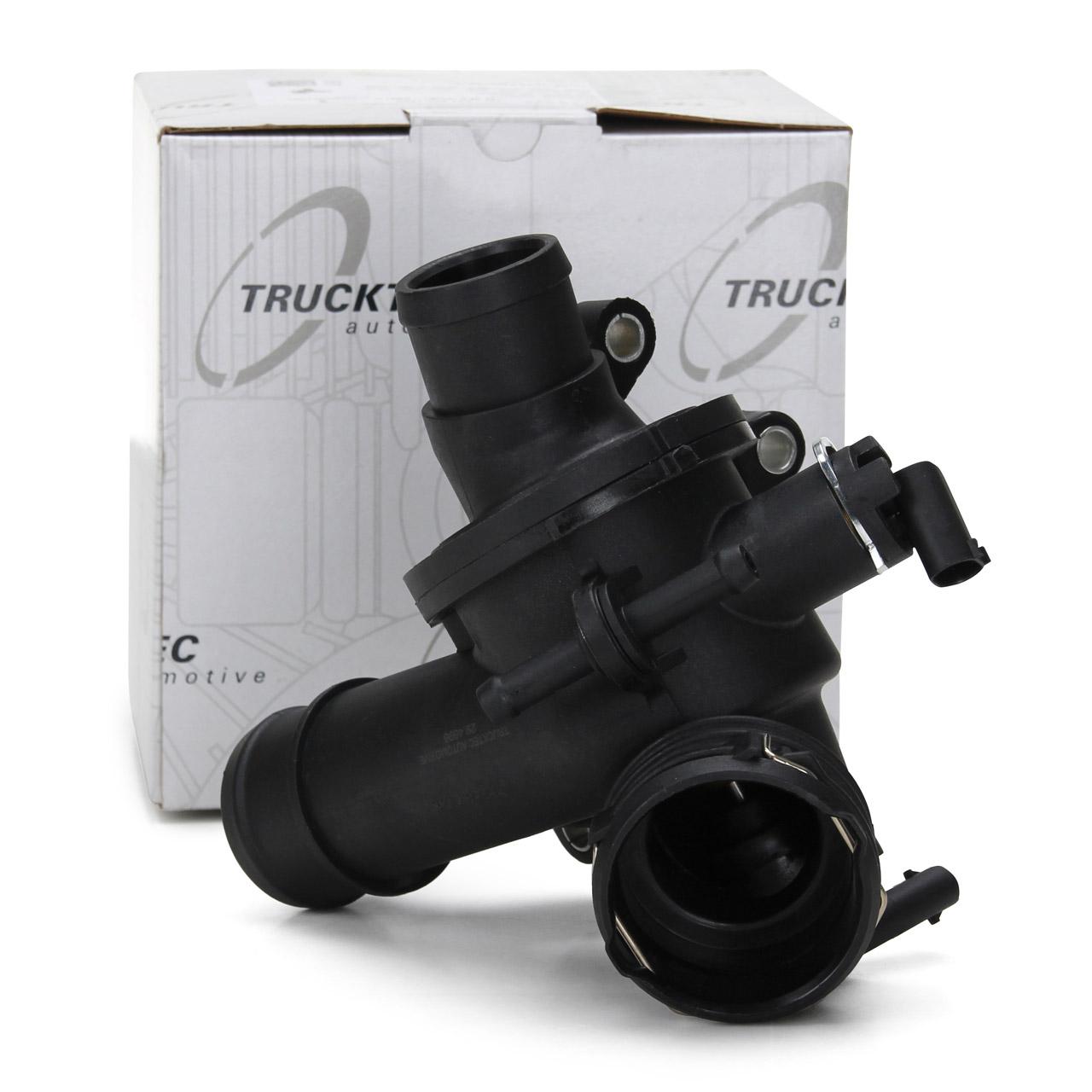 TRUCKTEC Thermostat + Gehäuse MERCEDES W176 W246 W242 W204 W205 S204 180-220CDI Sprinter