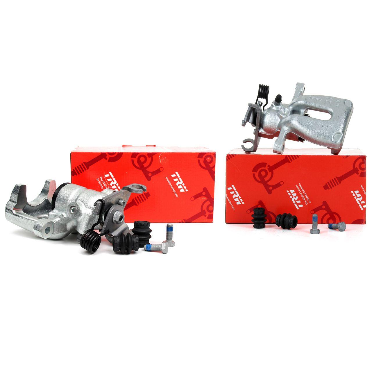 2x TRW Bremssattel Bremszange für MITSUBISHI COLT VI SMART FORFOUR (454) hinten