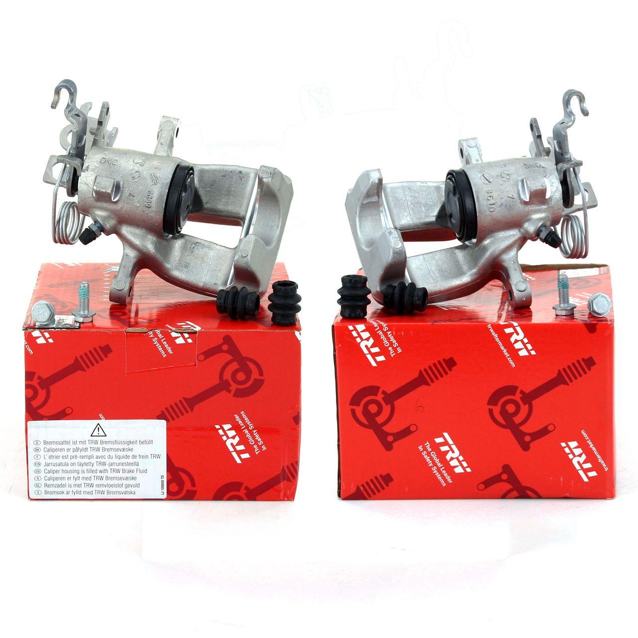 2x TRW Bremssattel VW Caddy III Kasten / Kombi 1ZE/1LJ hinten links + rechts