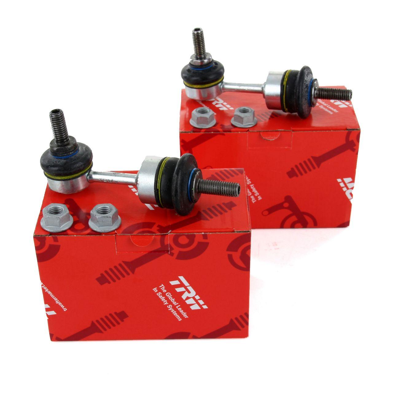 2x TRW Koppelstange Gelenkstange für SMART CABRIO CITY-COUPE FORTWO 450 vorne