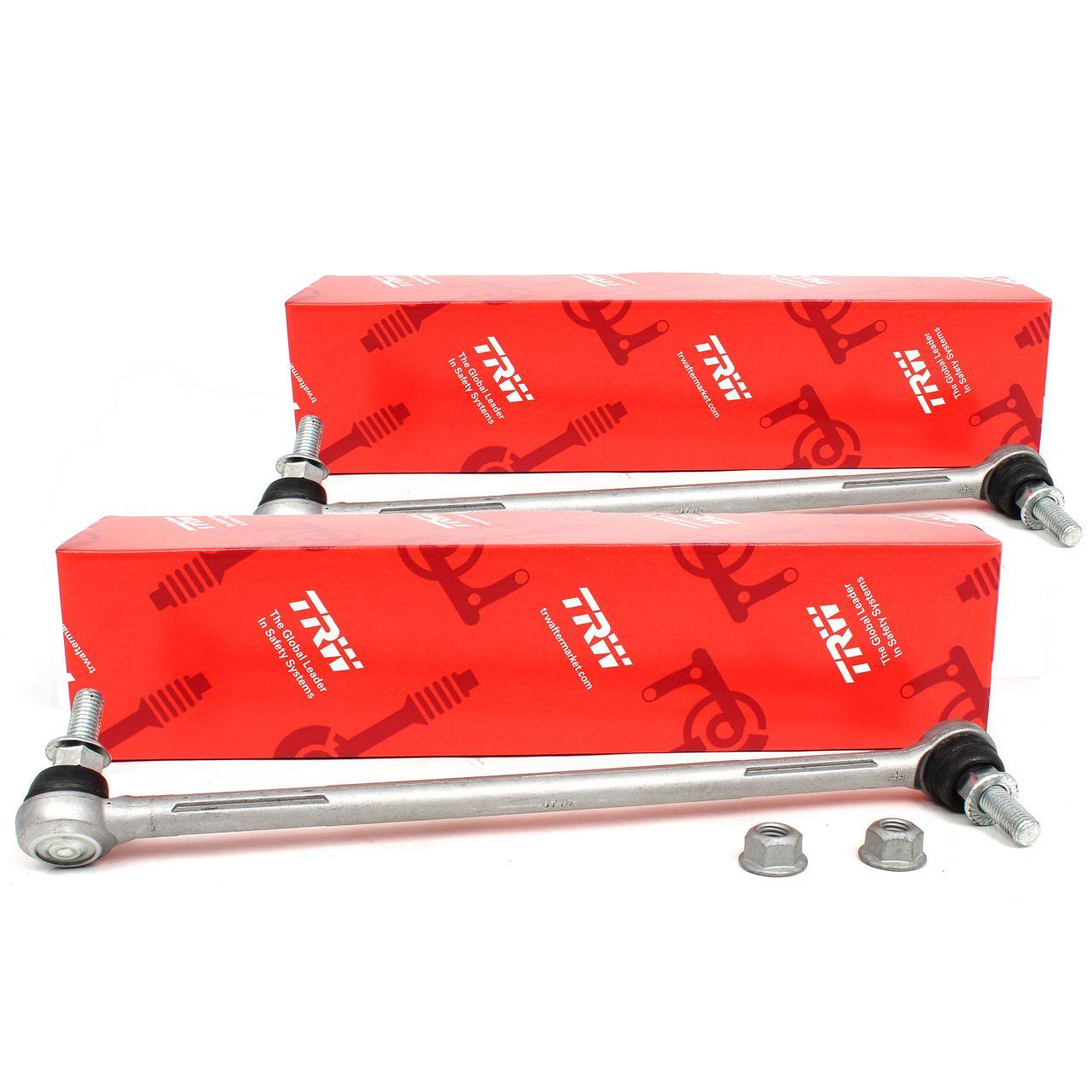 2x TRW Koppelstange Stabilisatorstange für BMW E81-88 E90-93 X1 E84 Z4 E89 vorne