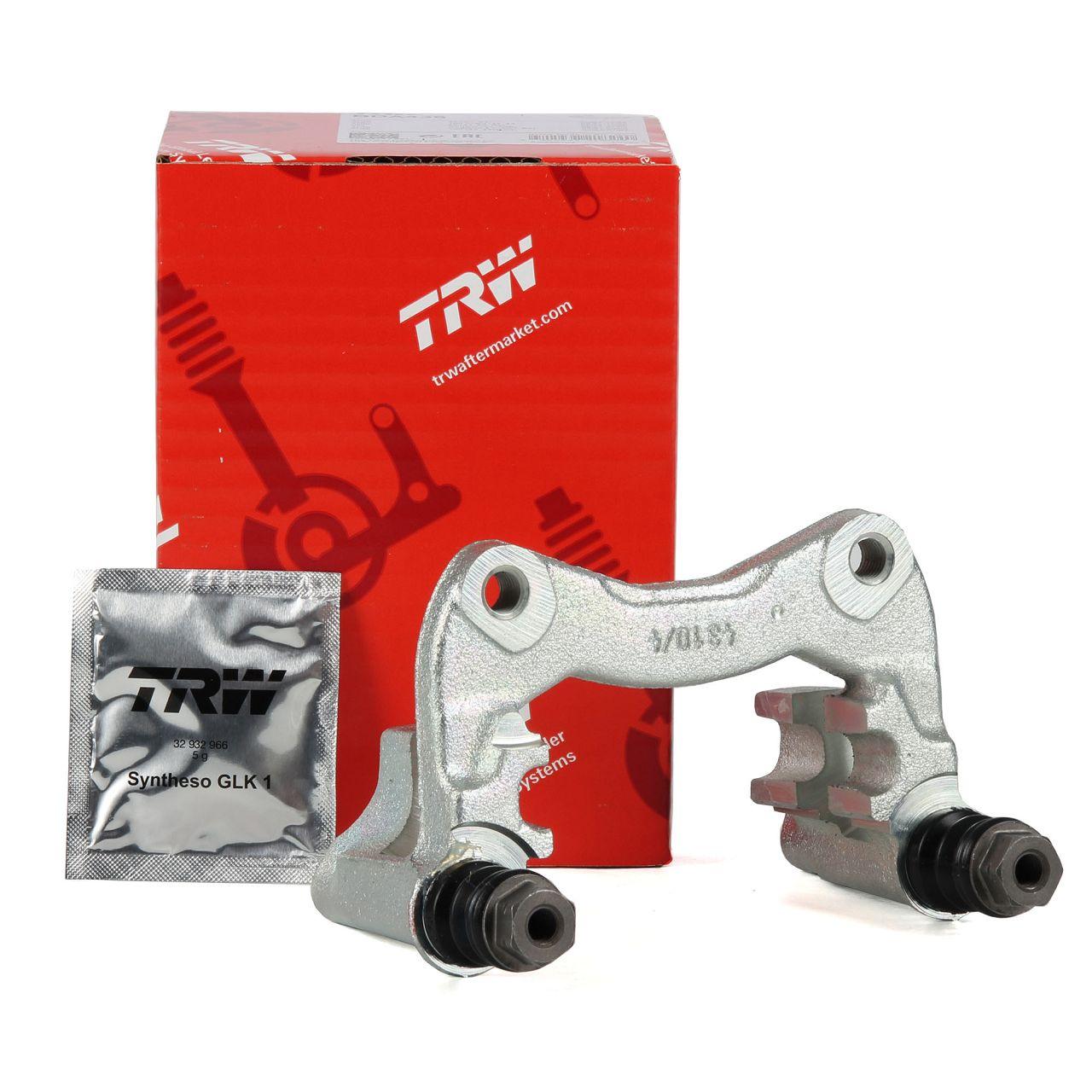 TRW BDA436 Bremssattelhalter für AUDI 100 200 80 A4 A6 VW GOLF 1 2 PASSAT hinten