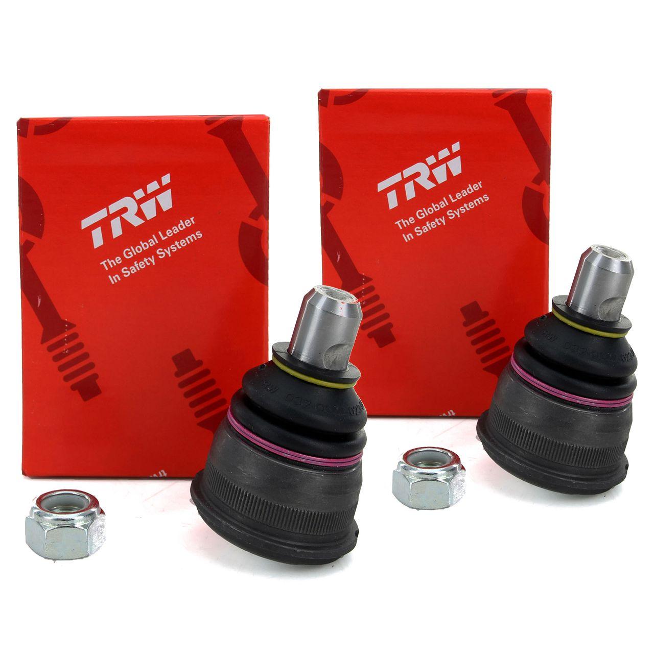 2x TRW Traggelenk für MERCEDES 190 W201 W124 R107 R129 vorne JBJ165