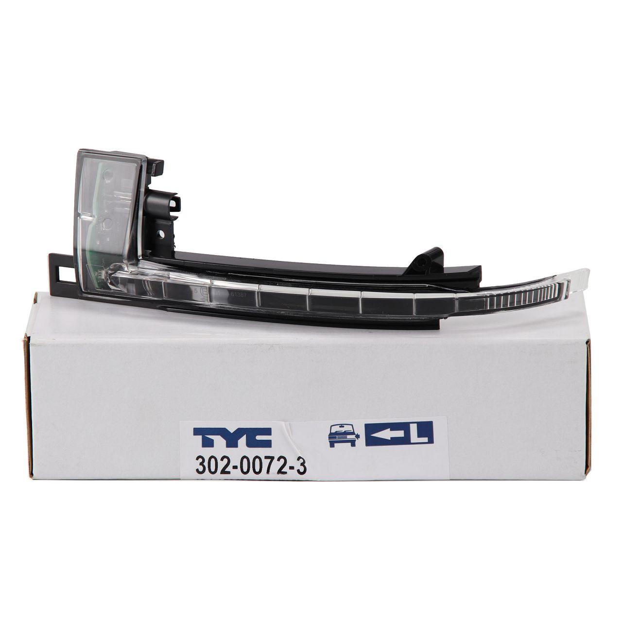 TYC Blinkleuchte Außenspiegel LED für AUDI A3 8P A4 B8 A5 8T A6 C6 Q3 links