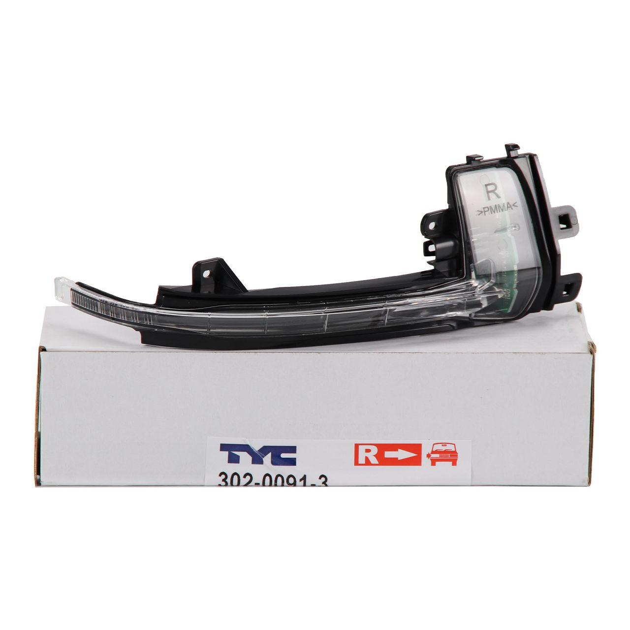TYC Blinkleuchte Blinker Außenspiegel LED für AUDI A3 8P A4 B8 A5 8T 8F rechts
