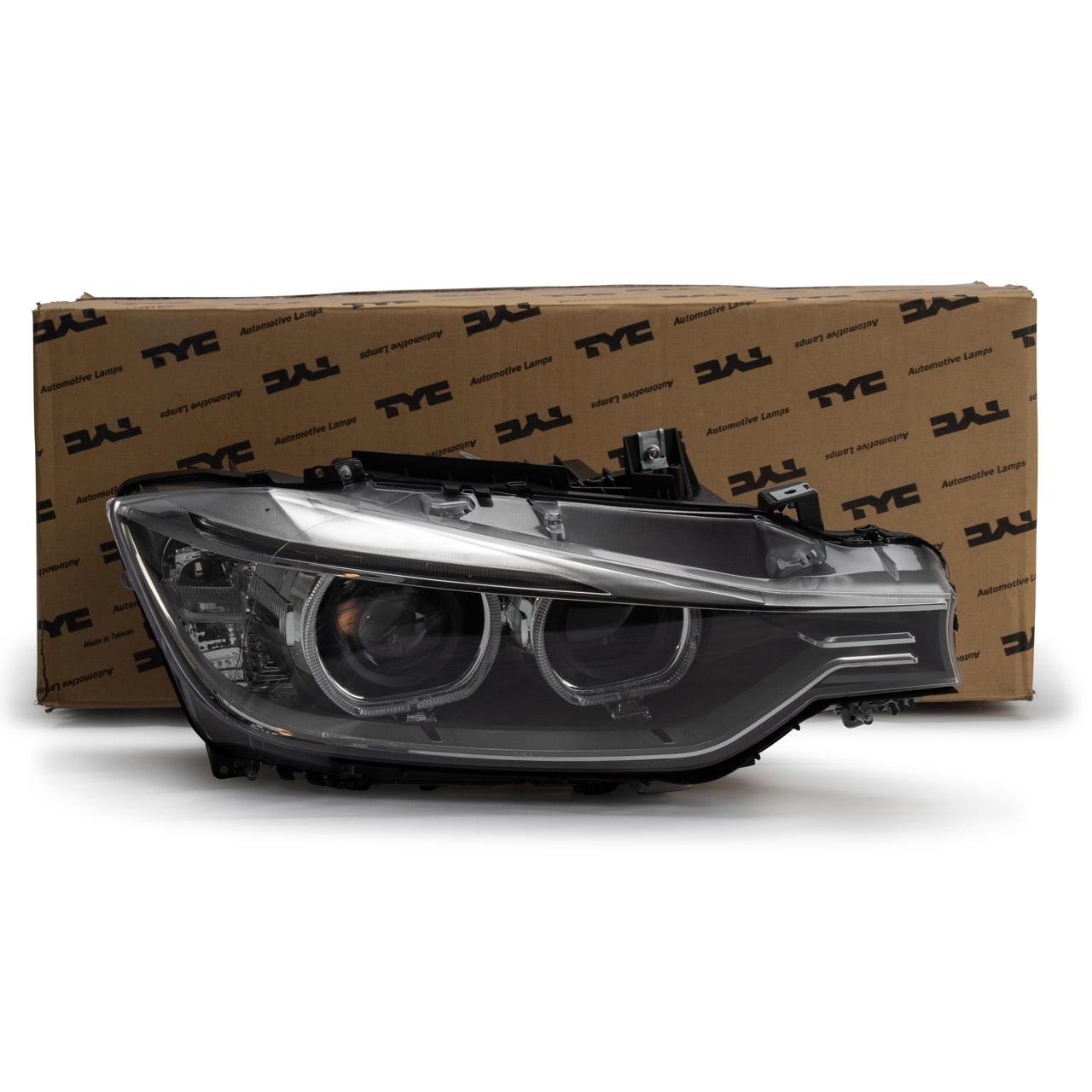 TYC Hauptscheinwerfer + Stellmotor D1S LED BMW 3er F30 F31 rechts 63117314532