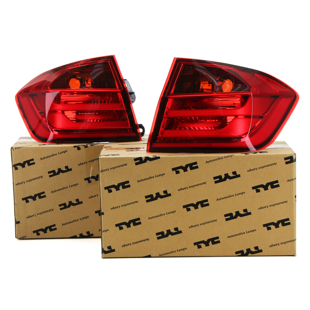 2x TYC Heckleuchte Rücklicht LED BMW 3er F30 F80 Limo aussen links + rechts